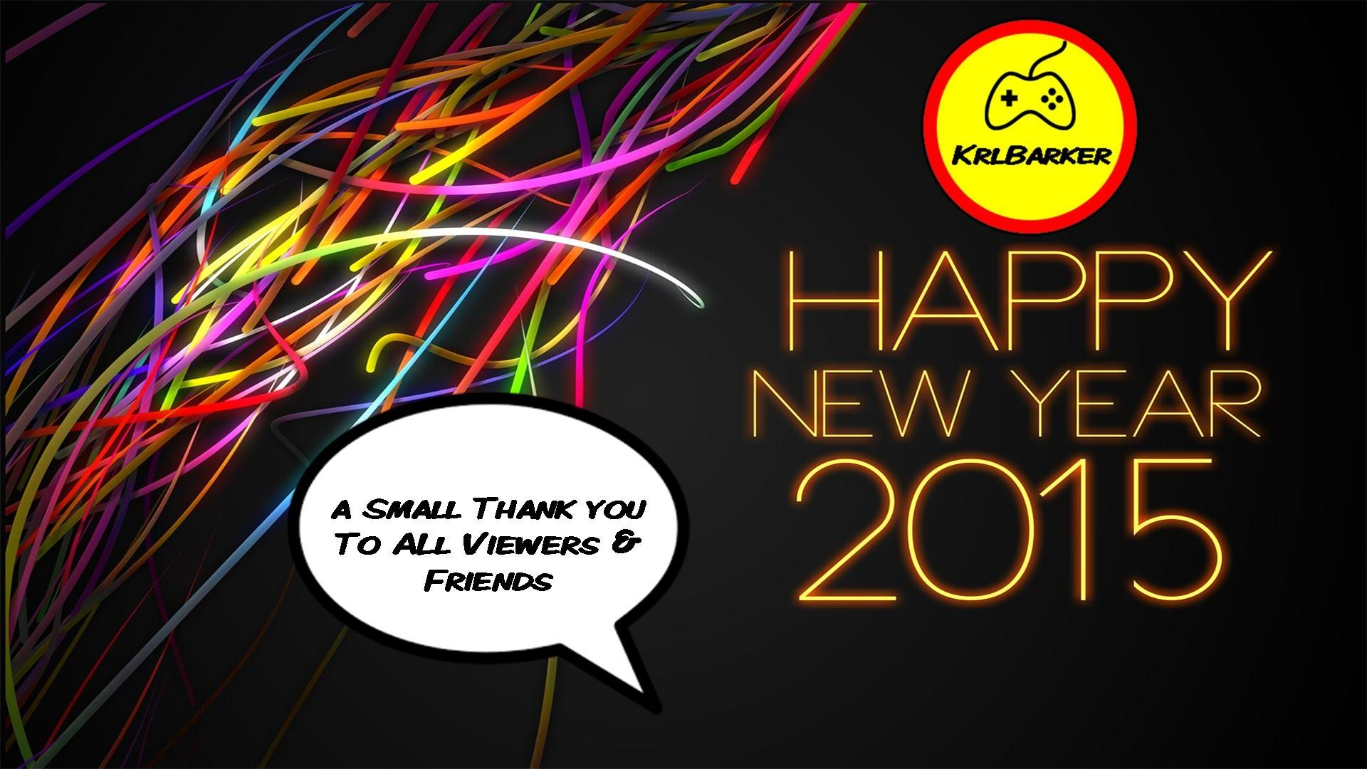 Happy New Year Everyone Thank Friends