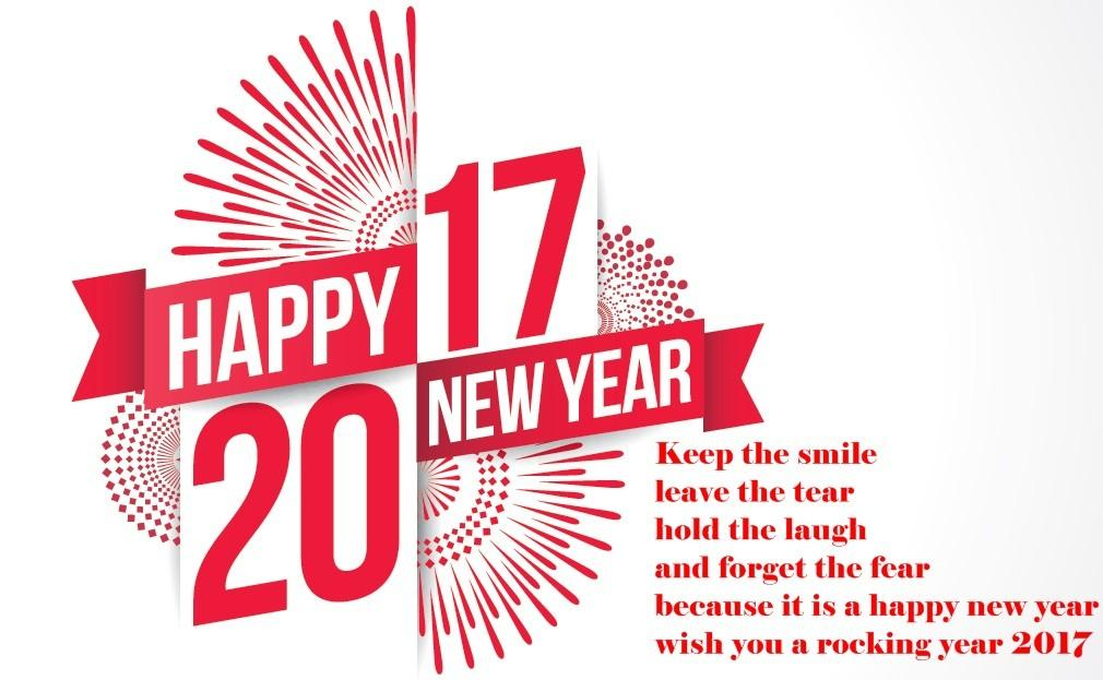 Happy New Year Messages Friends 2017 2018