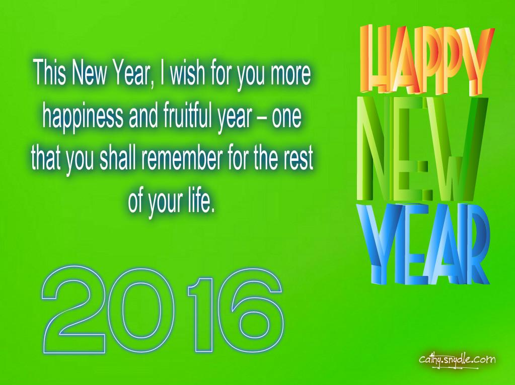 Happy New Year Wishes Friends Cathy