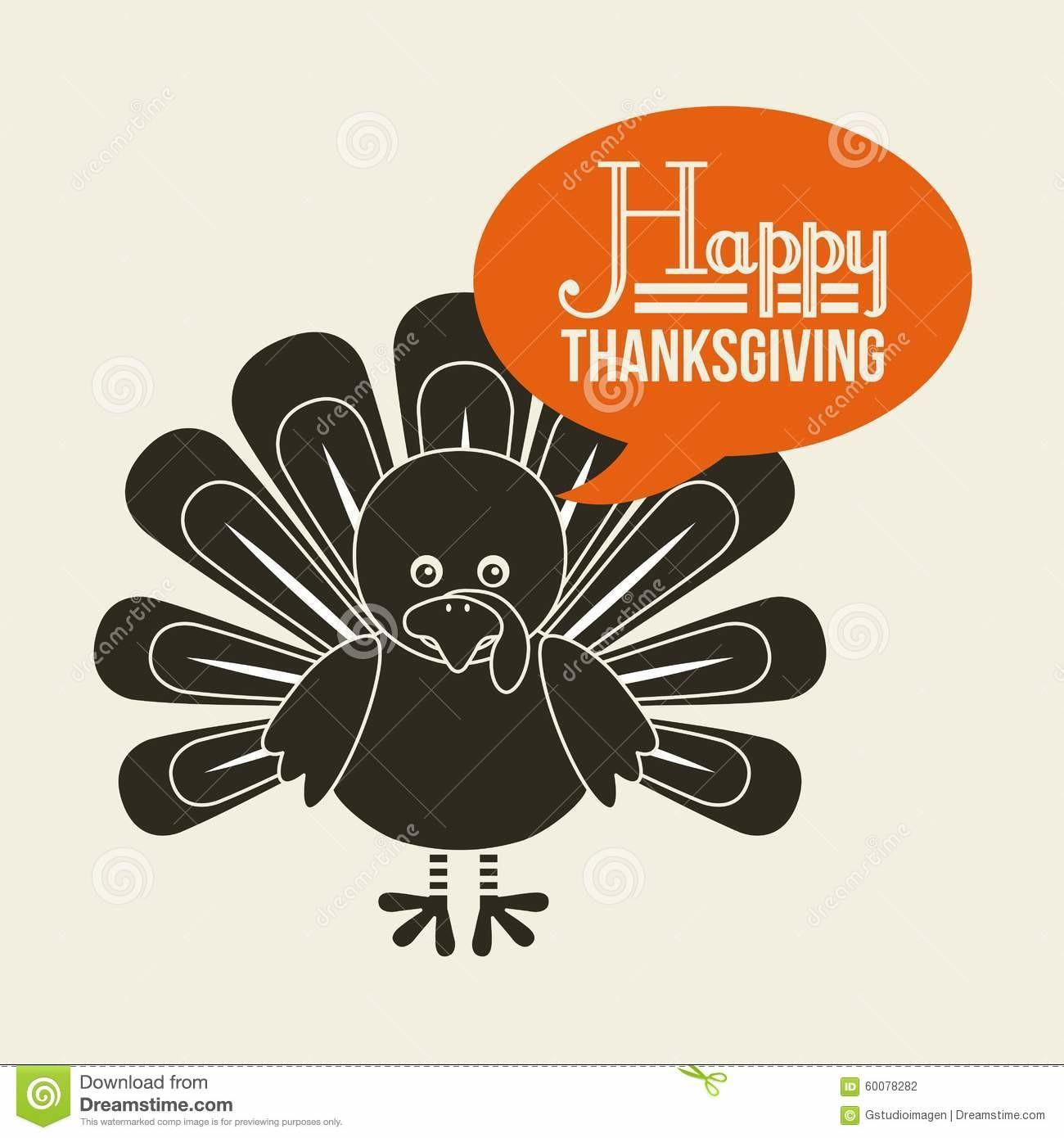 Happy Thanksgiving Stock Vector