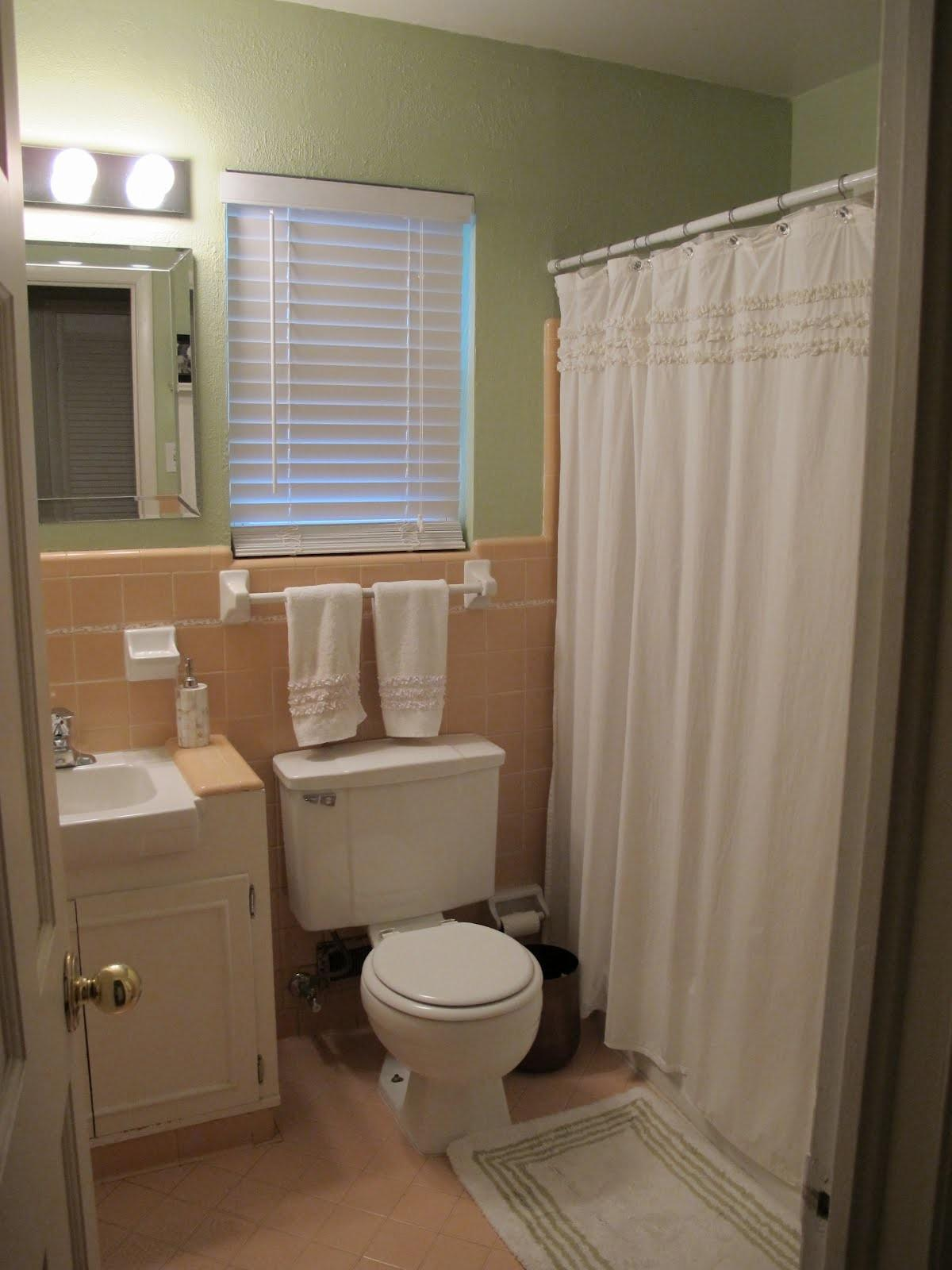 Happy Together Bathroom Makeover Here Before