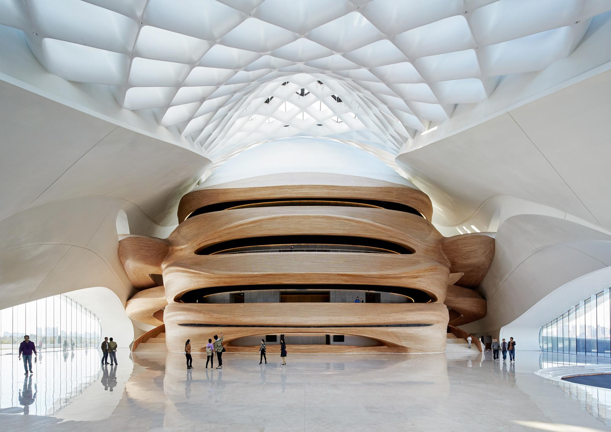 Harbin Opera House Mad Architects