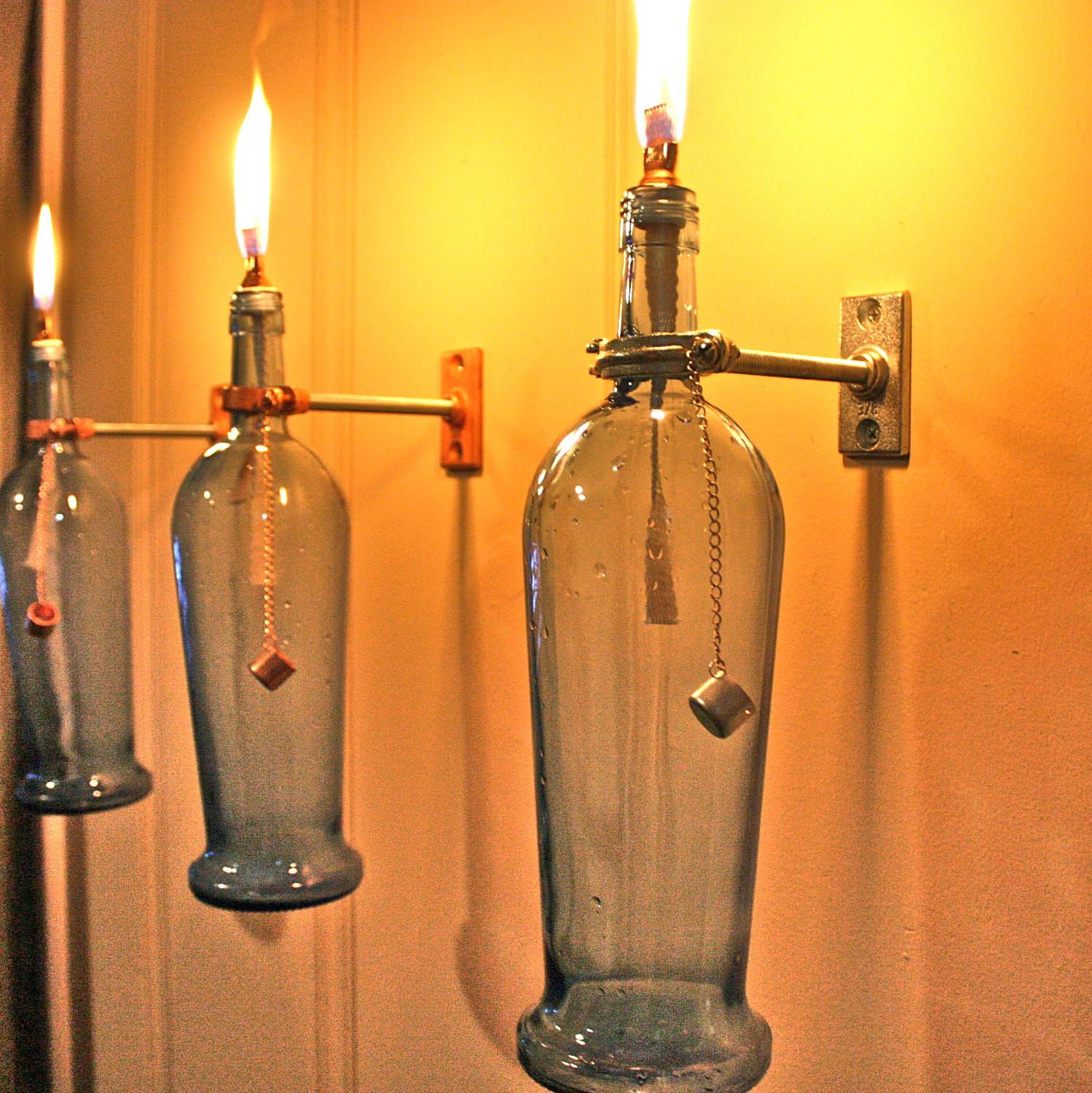 Hardware Only Wine Bottle Oil Lamp Kits Indoor