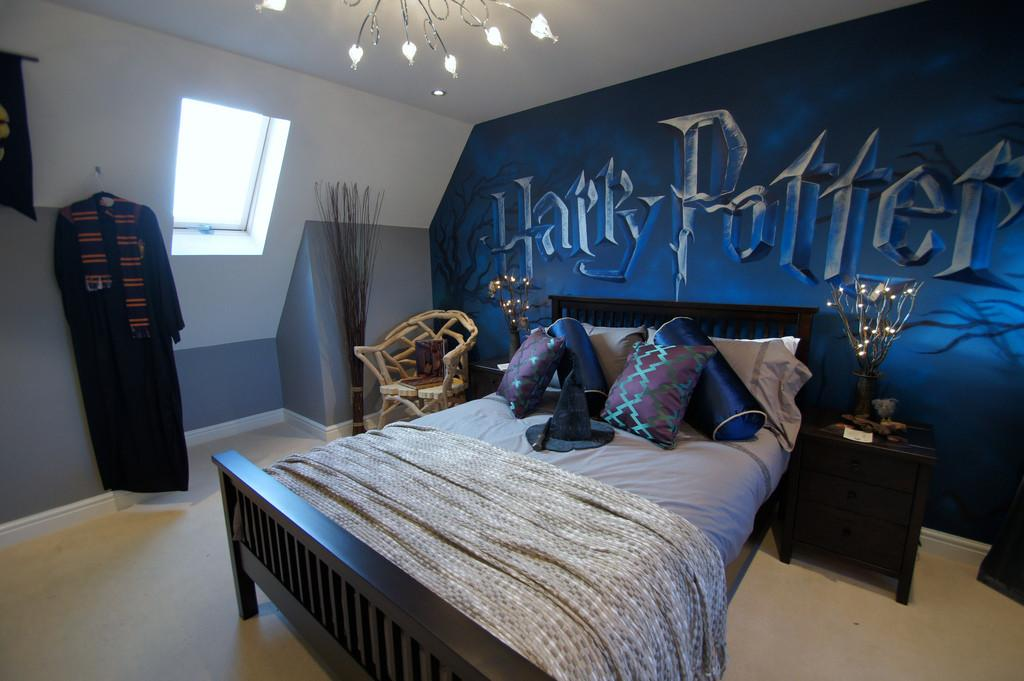 Harry Potter Mural Room Children Based