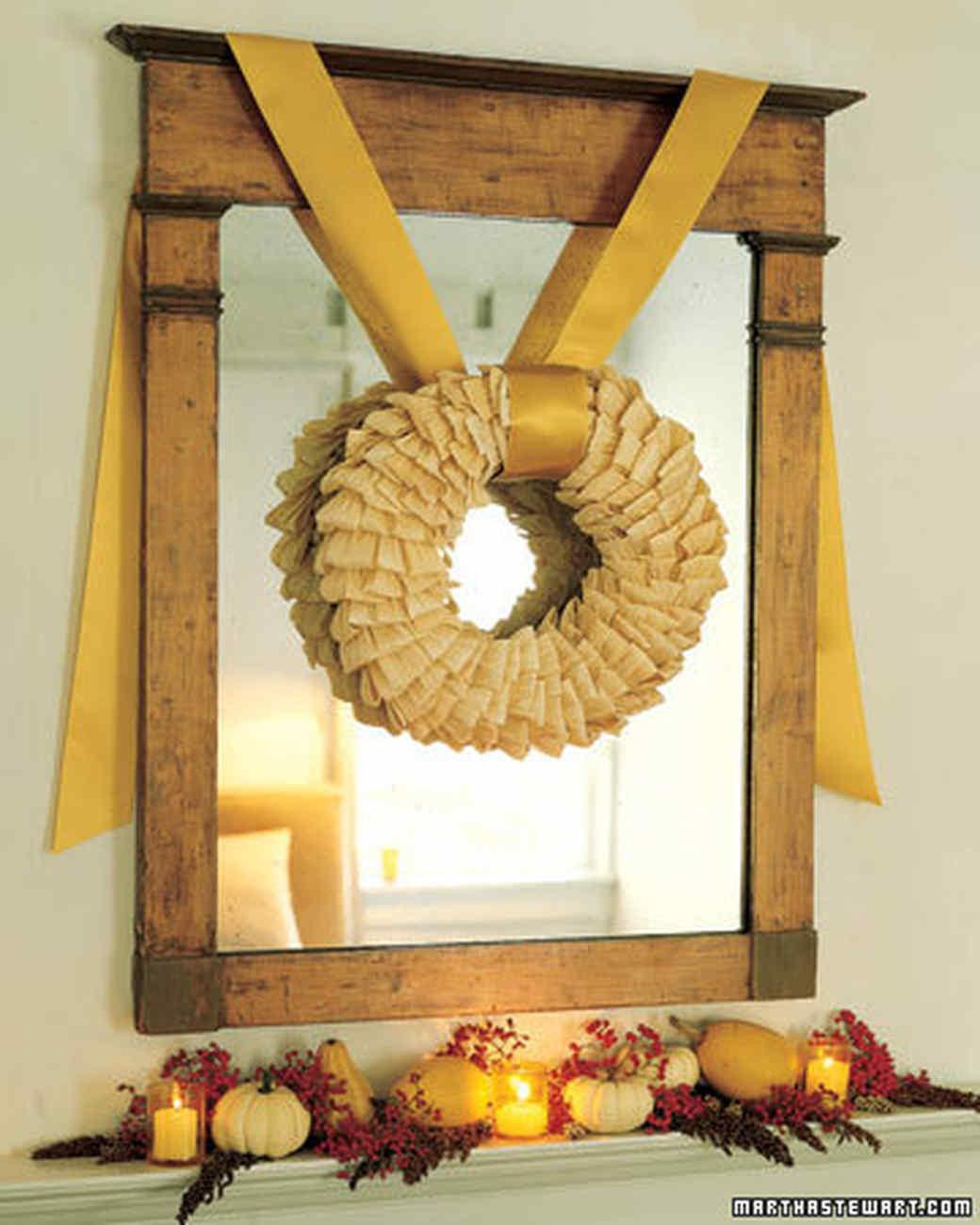 Harvest Wreath Martha Stewart