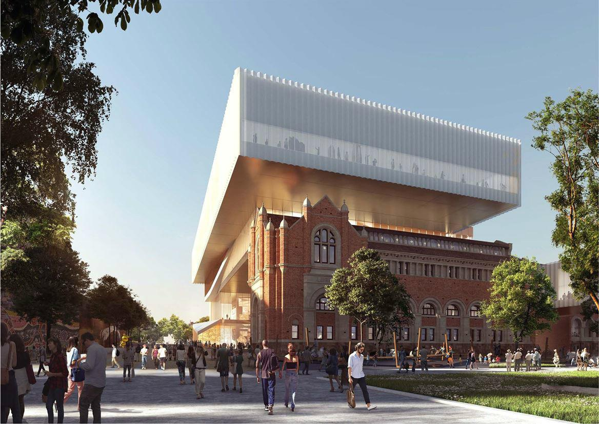 Hassell Oma Has Revealed Design New Museum