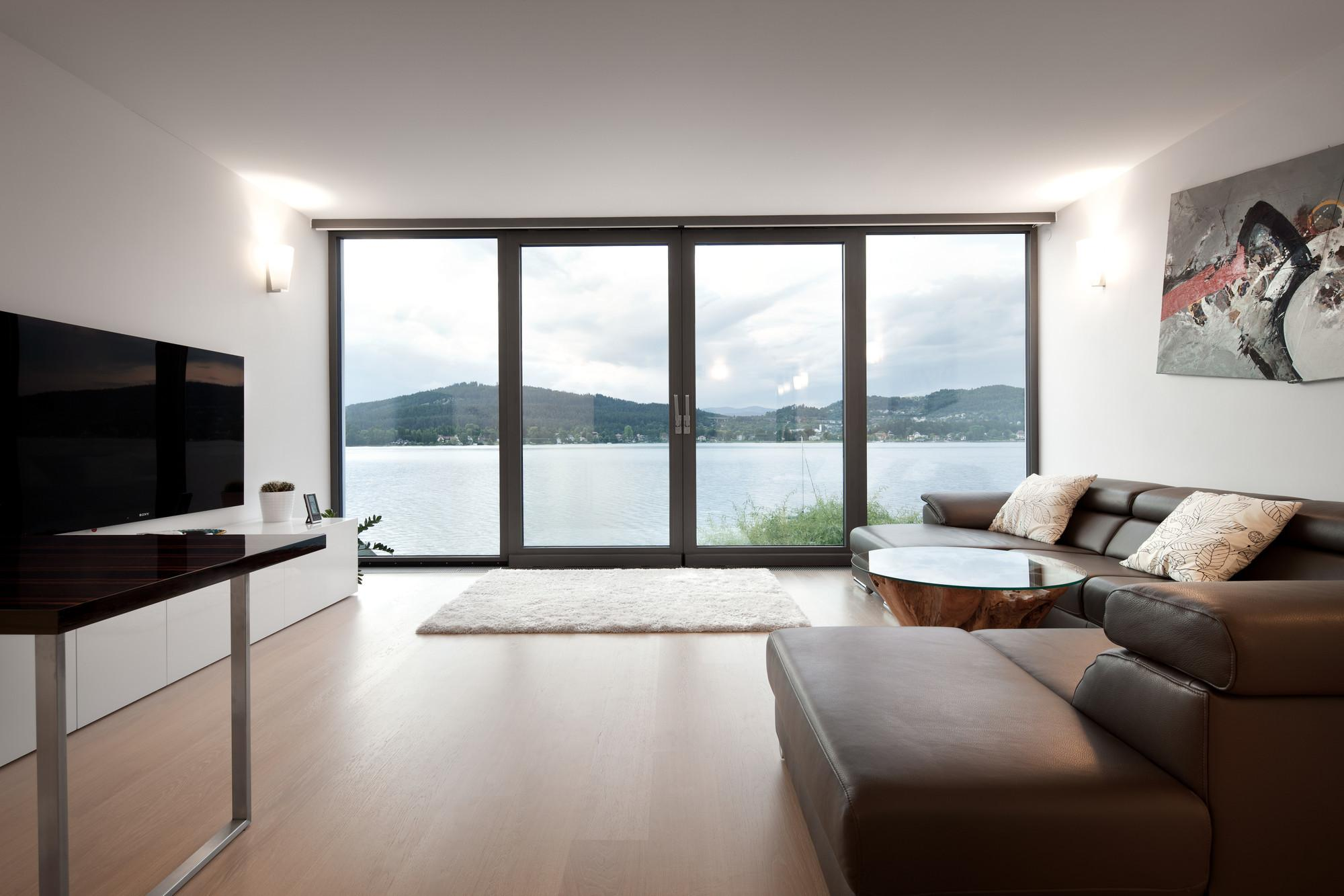 Haus See Spado Architects Glass Windows