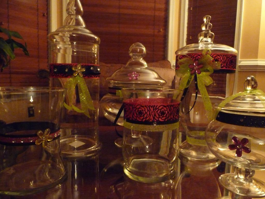 Have See Candy Buffet Jars Craftsy