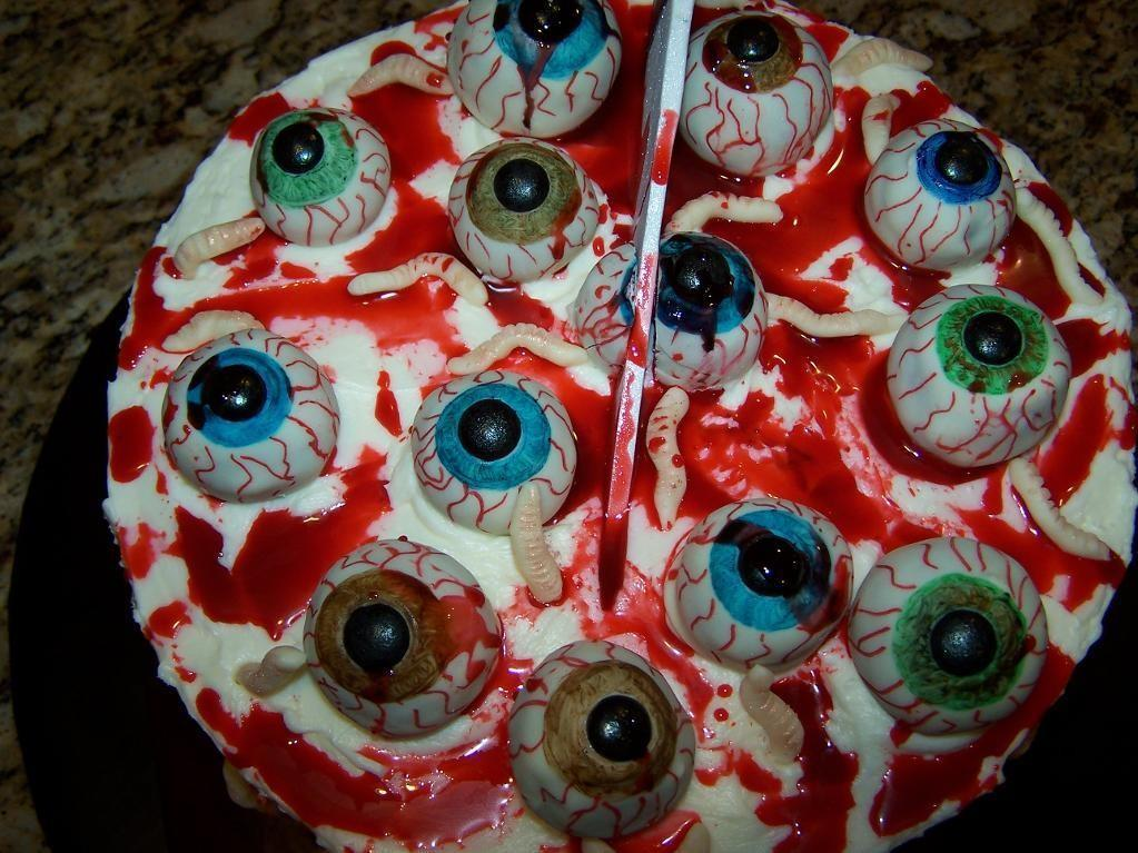 Have See Halloween Contest Bloody Eyeballs