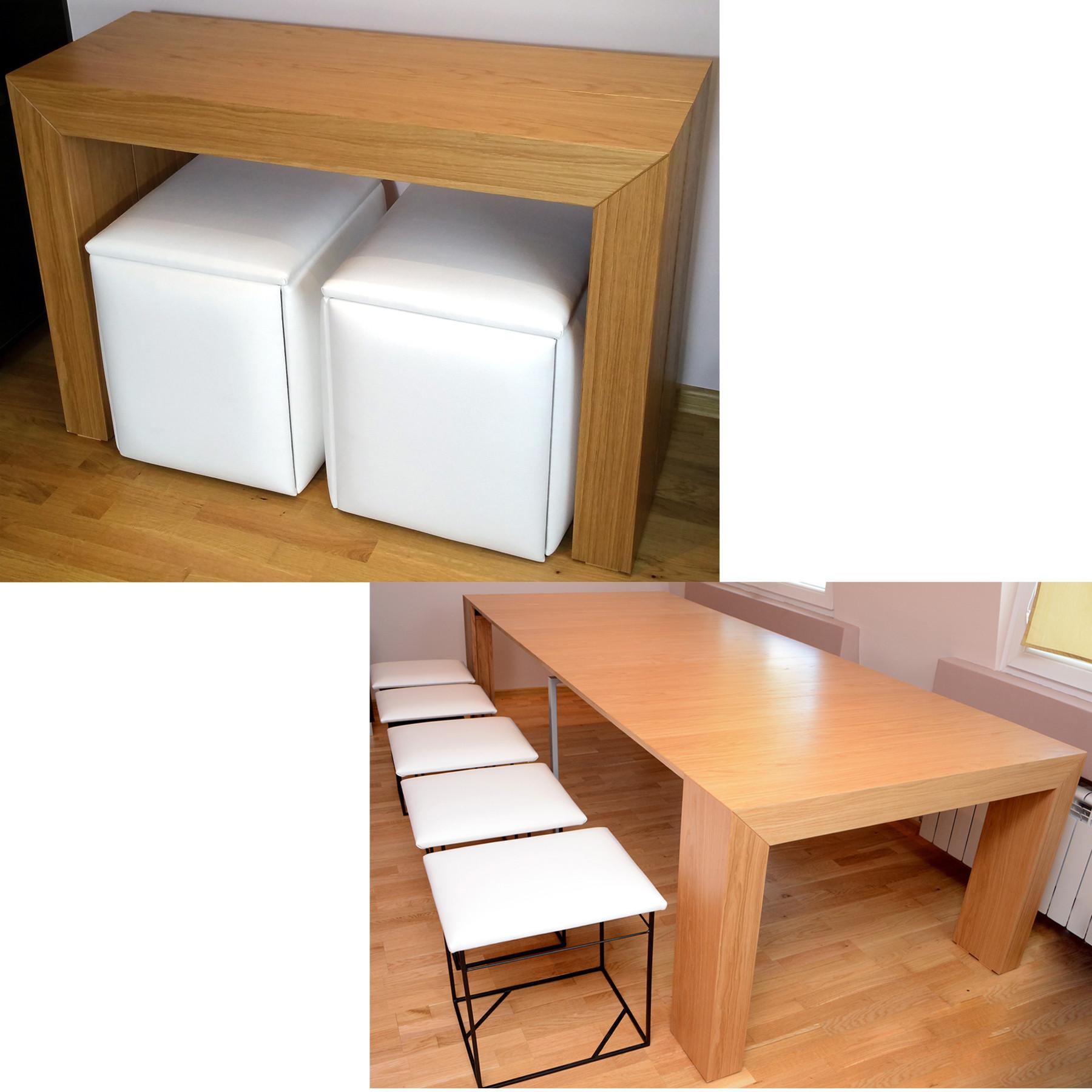 Havesome Space Saving Table Chairs Set