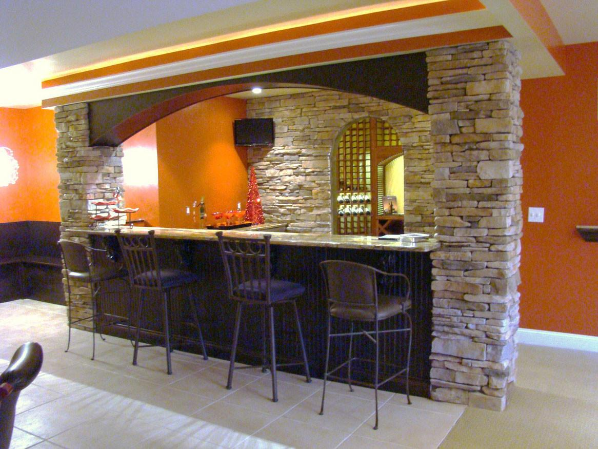 Having Fun Basement These Bar Ideas
