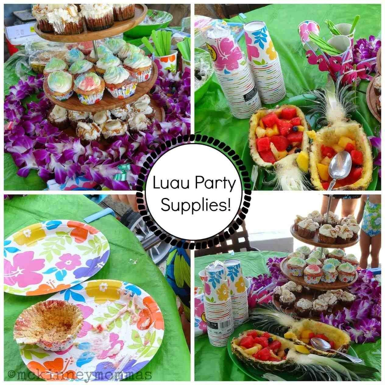 Hawaiian Pool Party Ideas Mayamokacomm