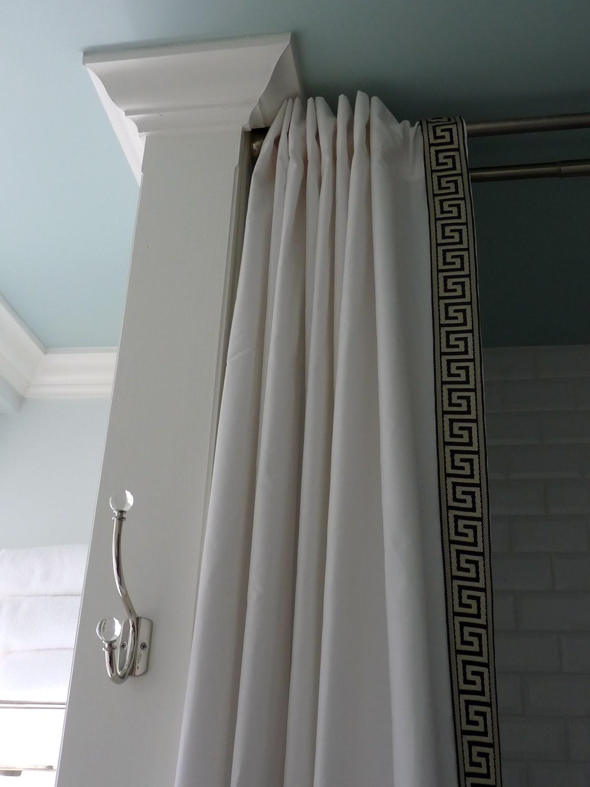 Hazardous Design Shower Curtain Diy Style