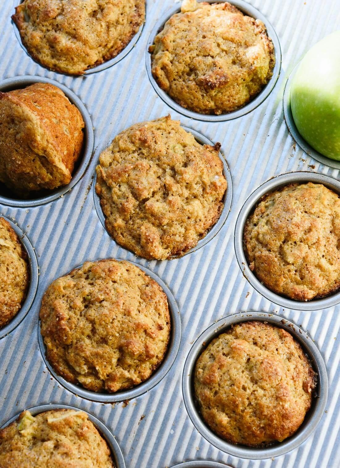 Healthy Apple Muffins Recipe Cookie Kate
