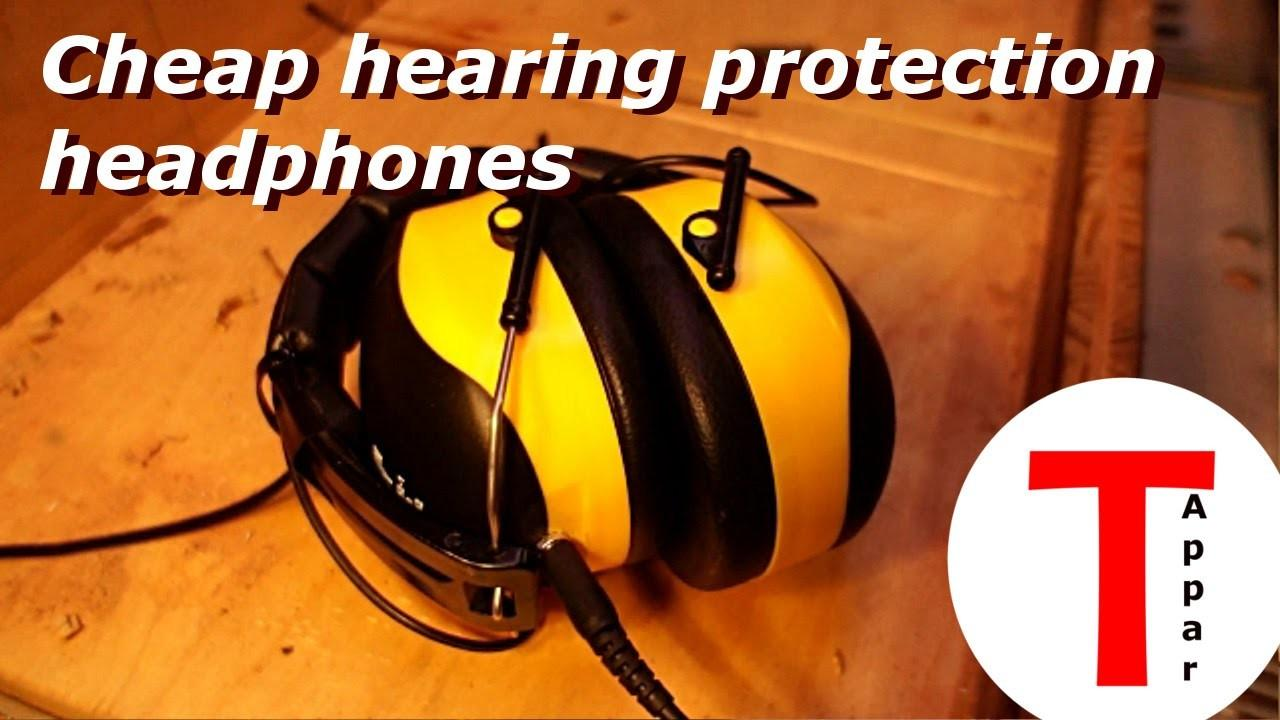 Hearing Protection Now Tunes Old Headphones