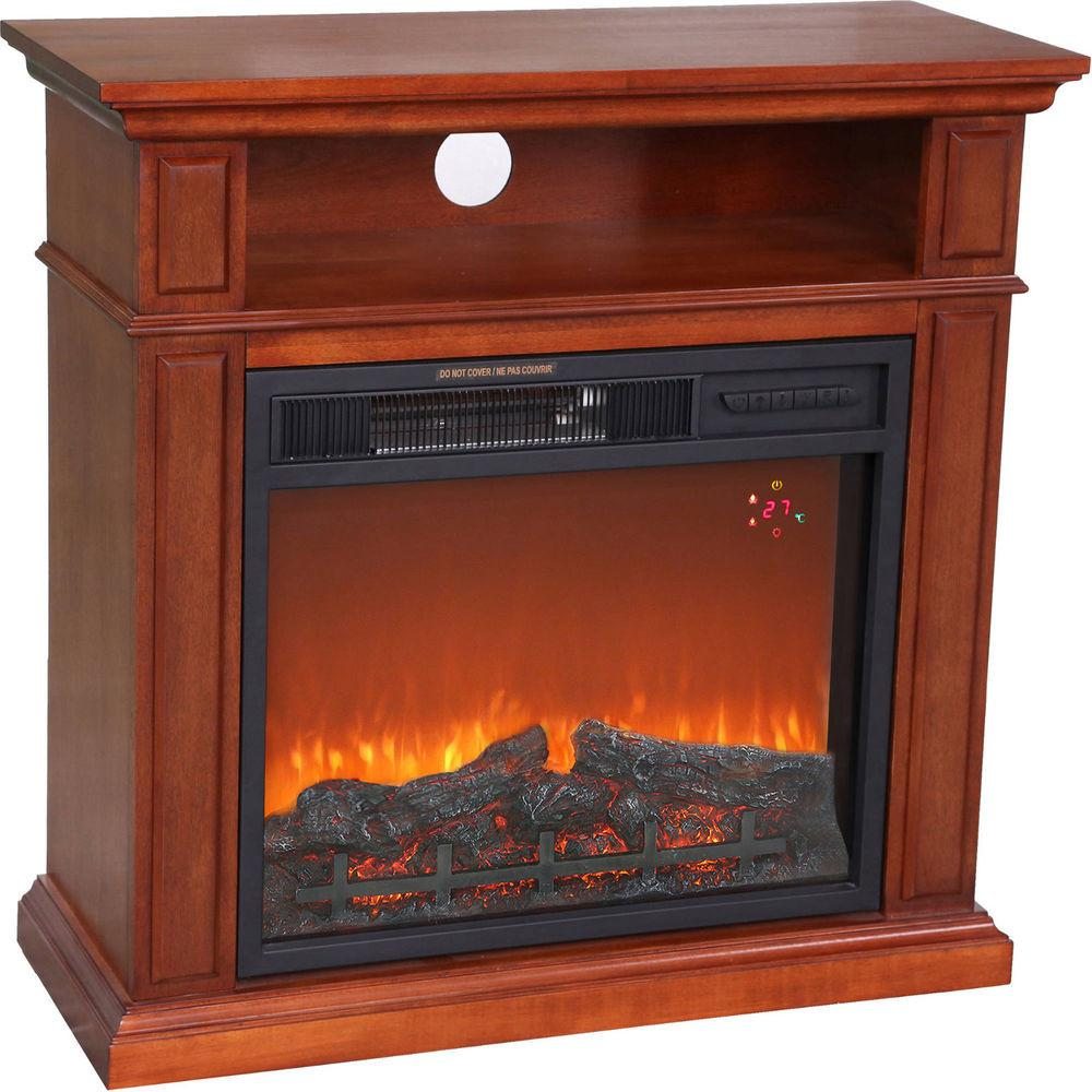 Hearth Trends 1500w Small Media Indoor Infrared Electric