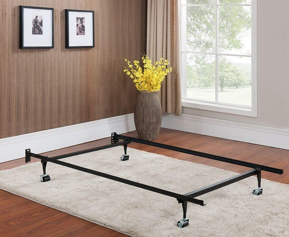 Heavy Duty Metal Twin Bed Frame Rug Rollers