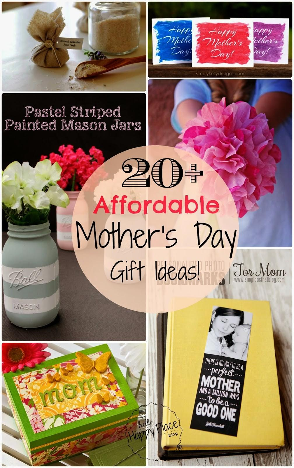Hello Happy Place Easy Affordable Diy Mother Day