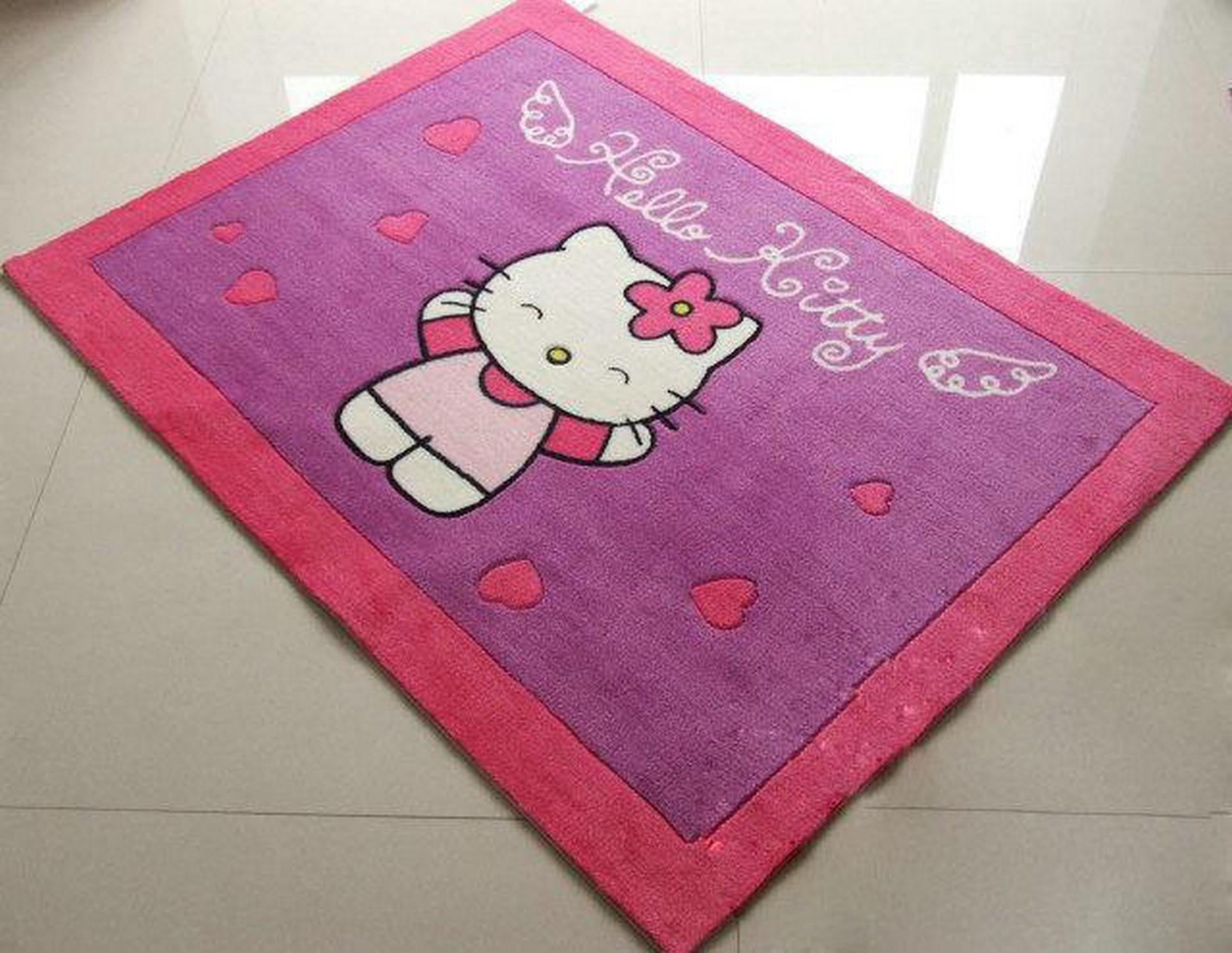 Hello Kitty Bath Rug Beautiful Bathroom Tiles Design