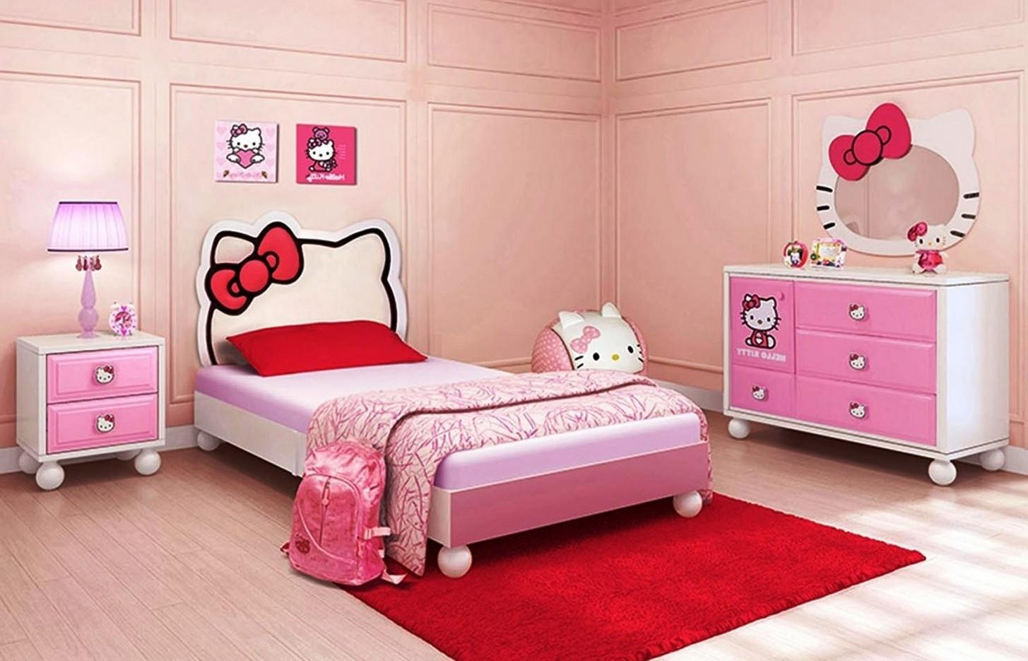 Hello Kitty Bedroom Idea Your Cute Little Girl