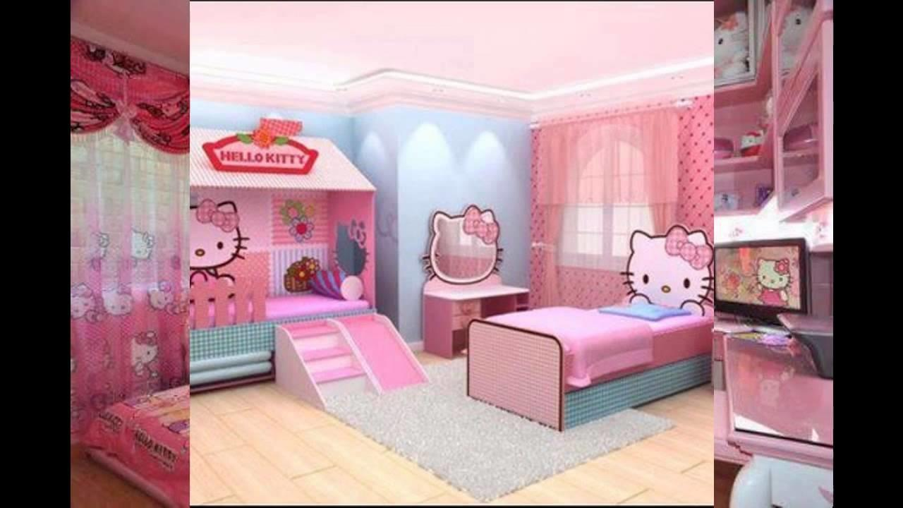 Hello Kitty Bedroom Interior Design Decor Ideas