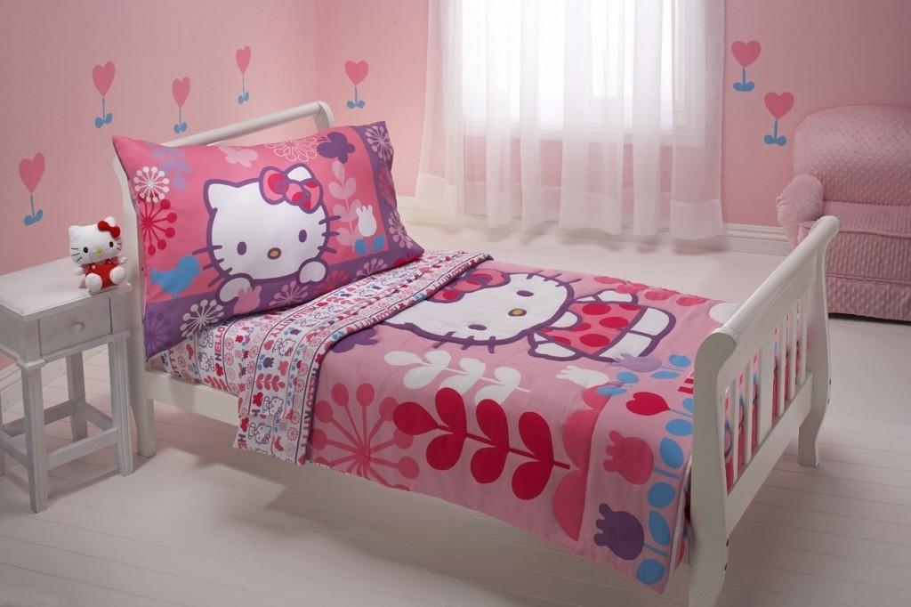 Hello Kitty Piece Toddler Bedding Set Everything