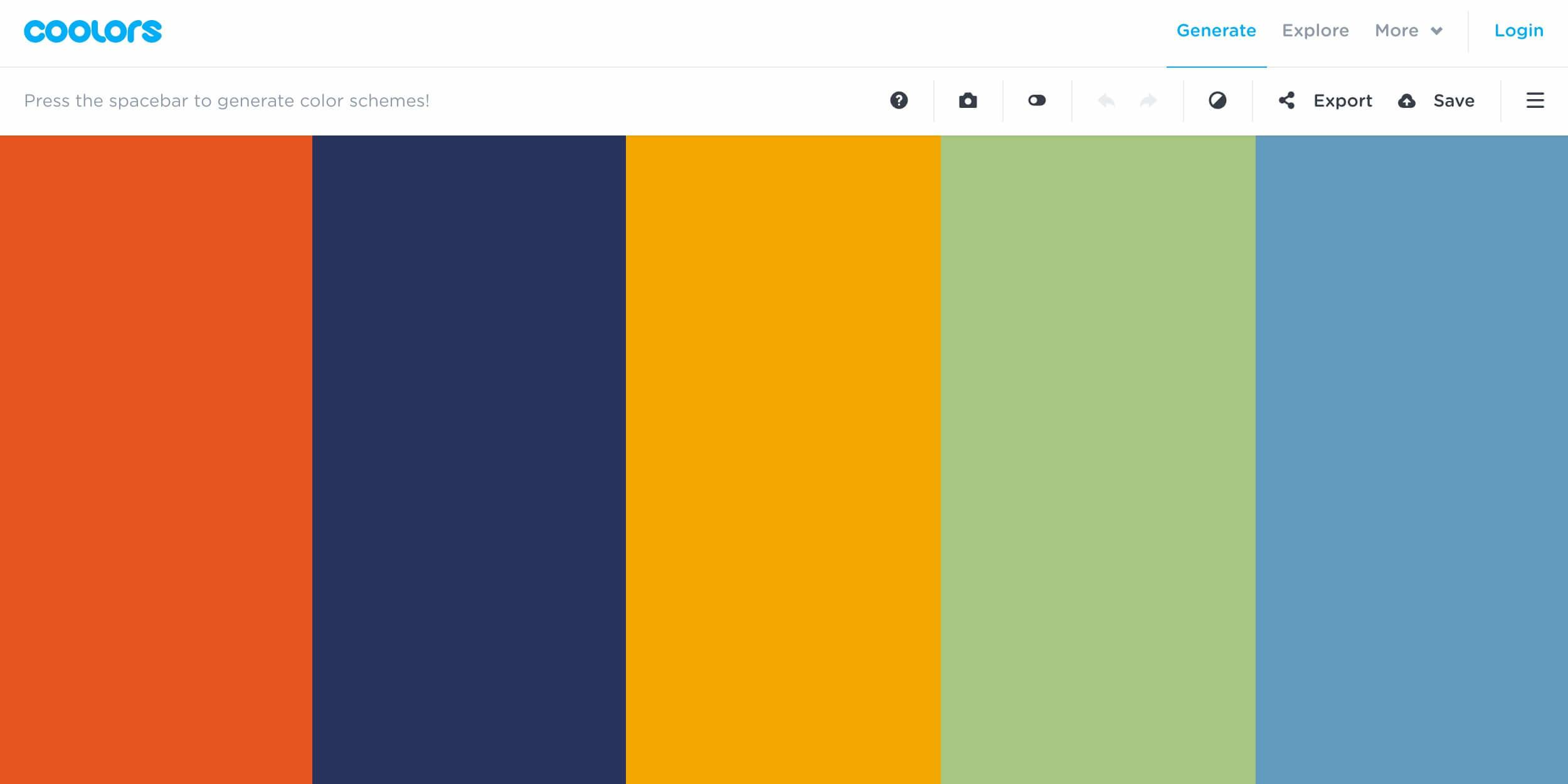 Helpful Resources Color Palette Inspiration Coolors
