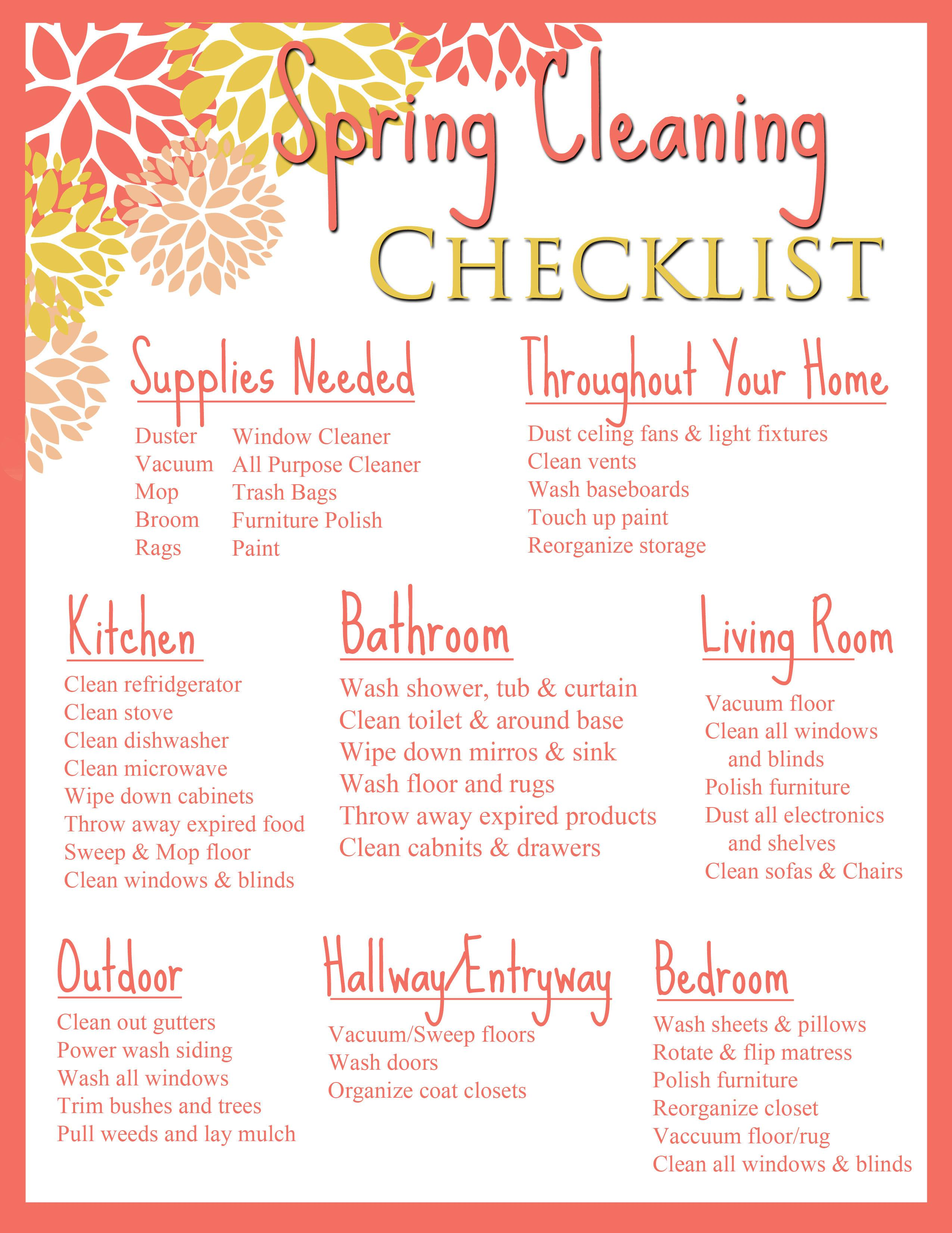 Helpful Tips Easy Spring Cleaning Session