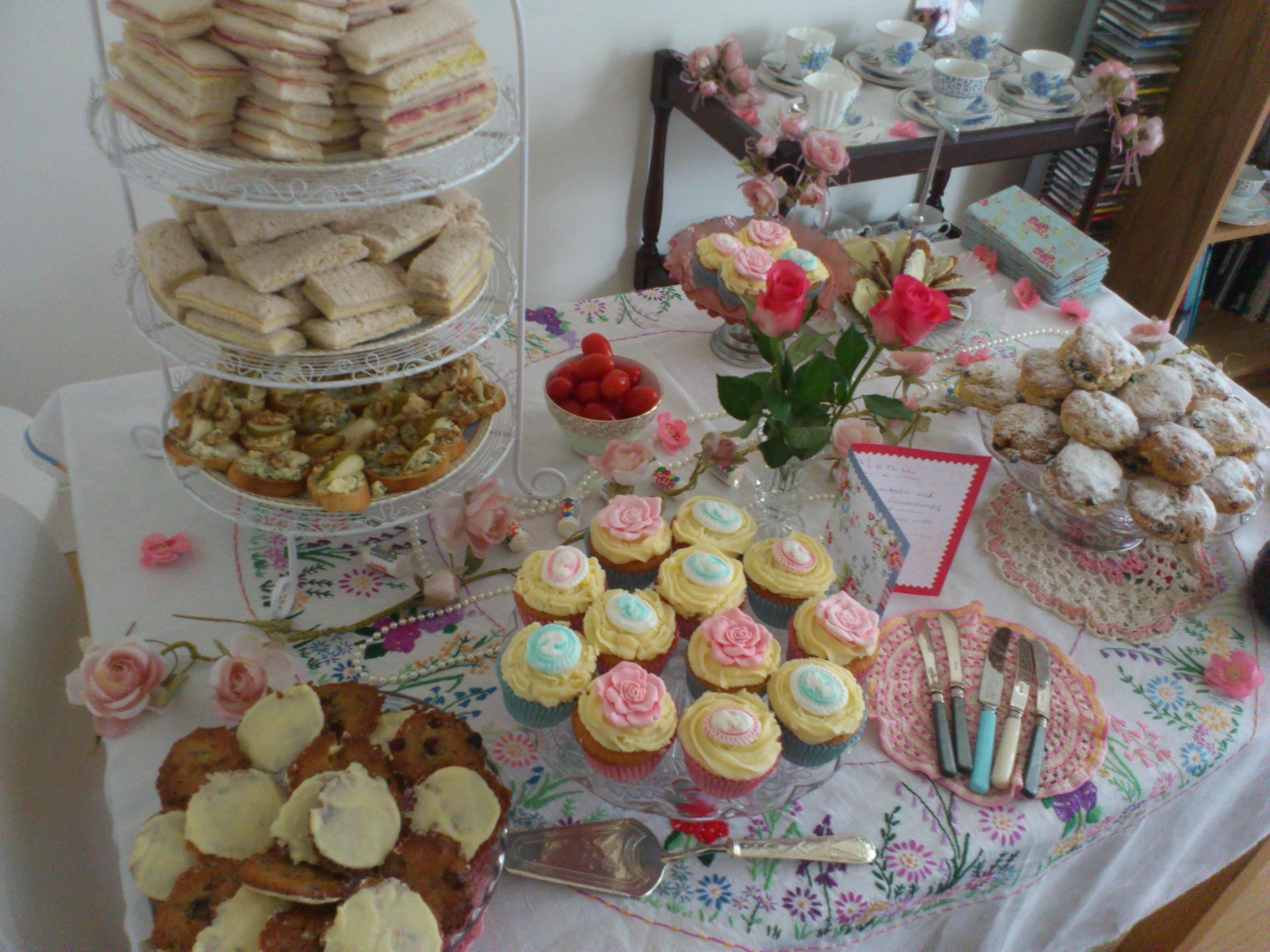 Hen Party Vintage Rose Catering Blog