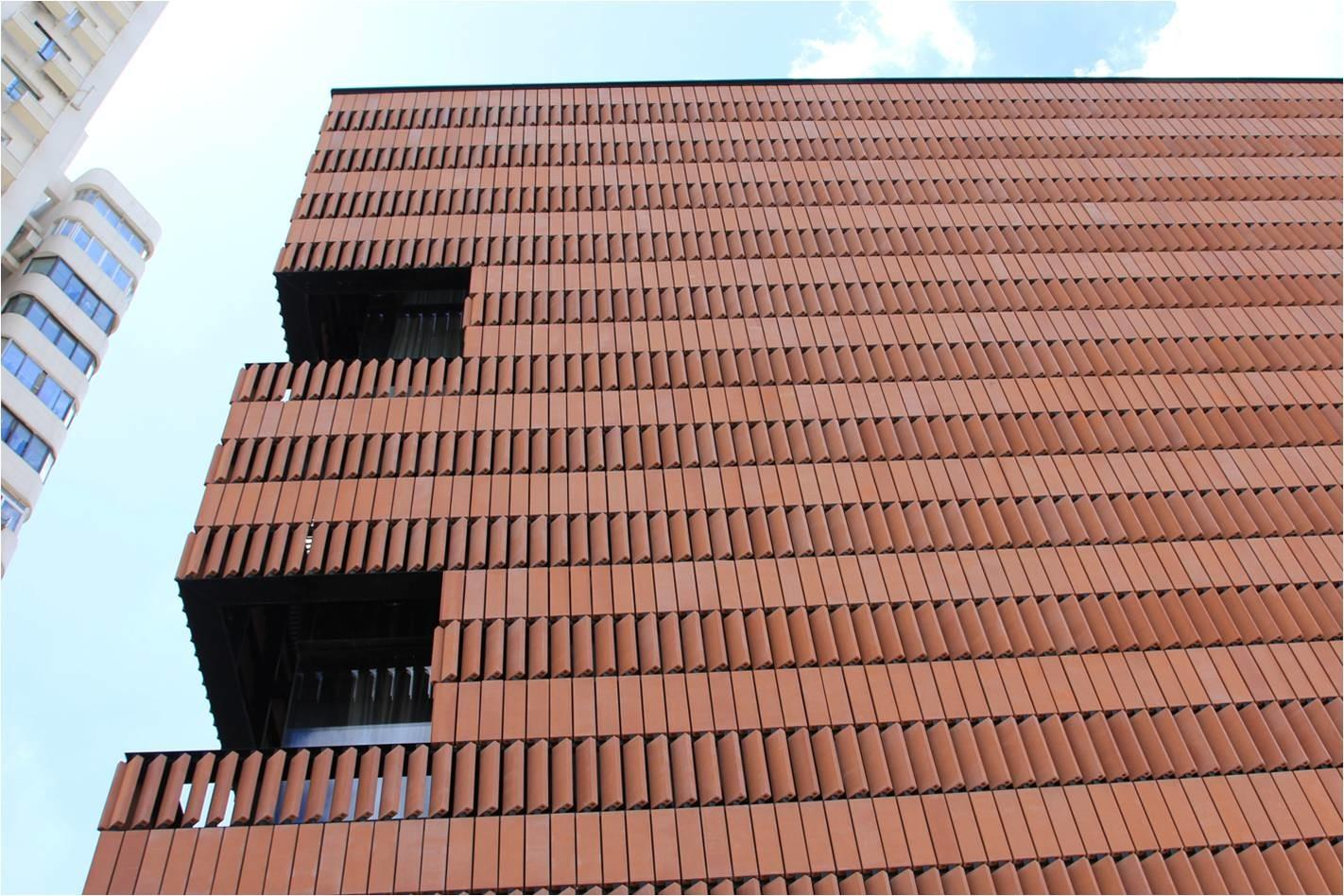 Hengshang Hotel Shanghai Lopo China Terracotta Facade