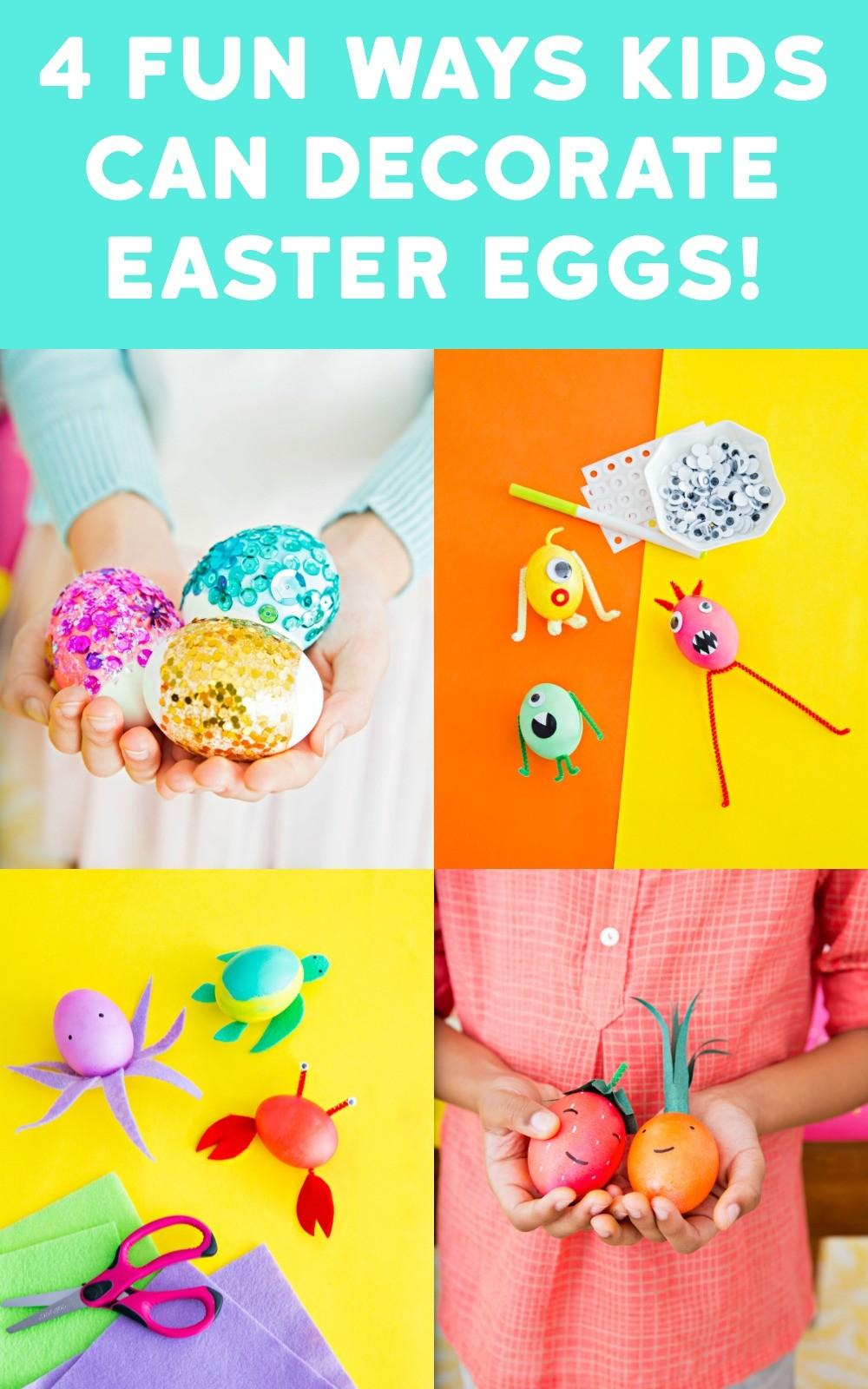 Here Four Fun Colorful Ways Decorate Easter