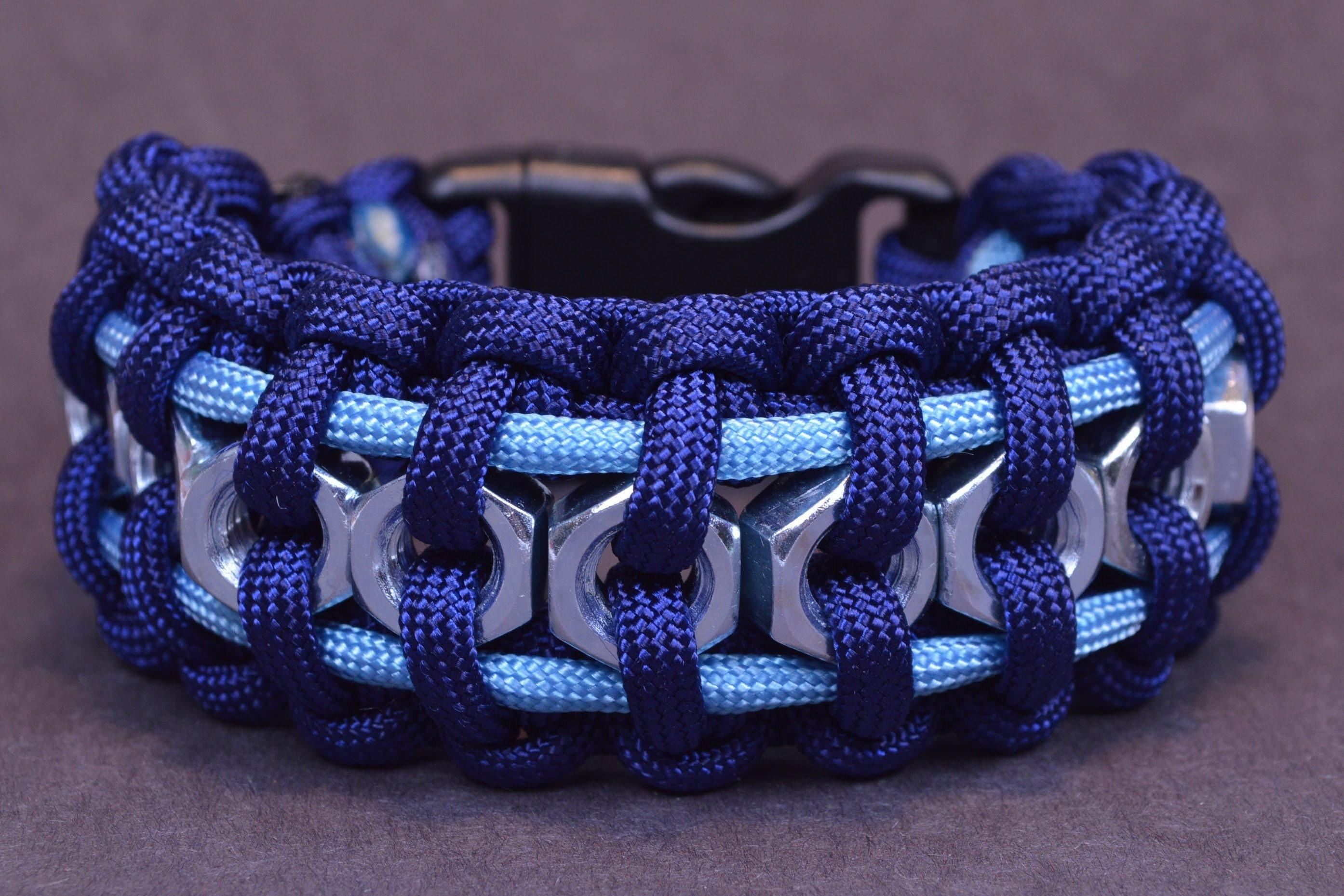 Hex Nut Paracord Bracelet Learn Make Your Own