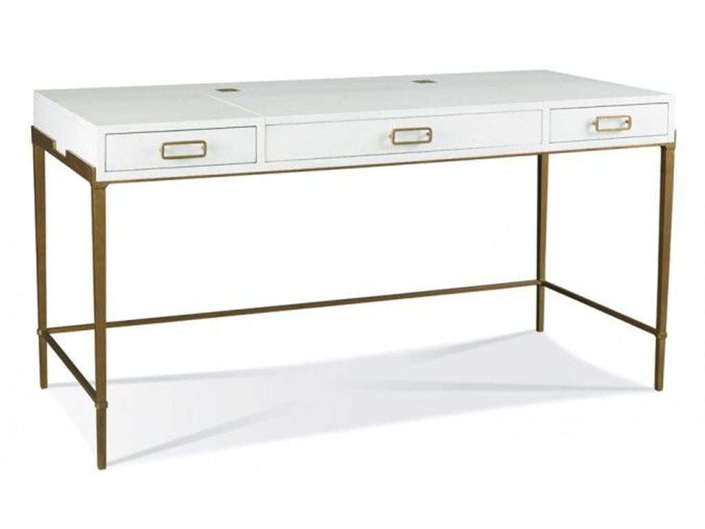 Hickory White Home Office Bailey Desk Gold 903 54g