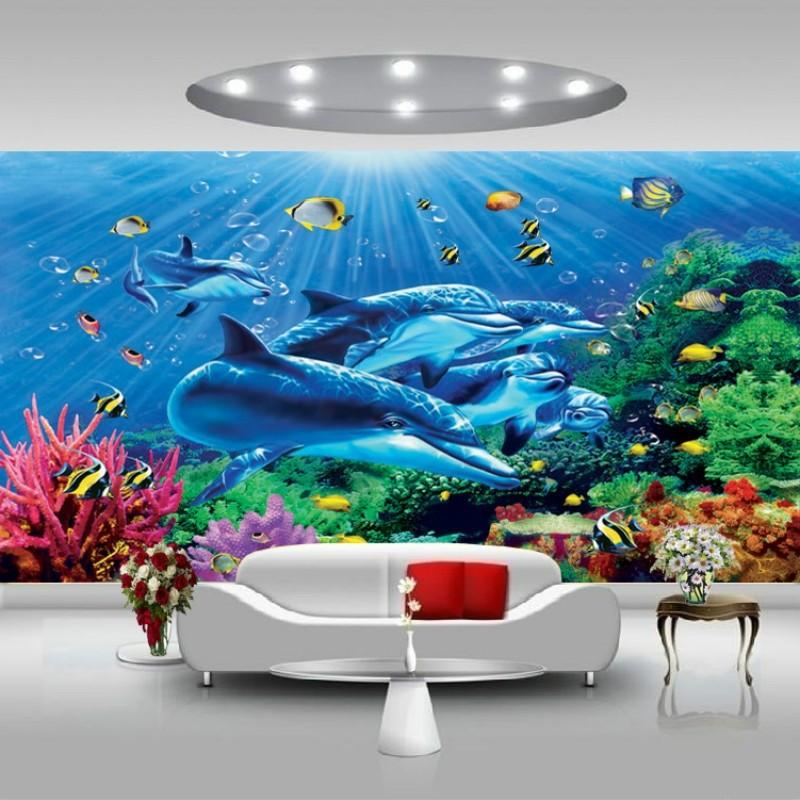 Hidden Agenda Dolphin Wall Small Home Ideas