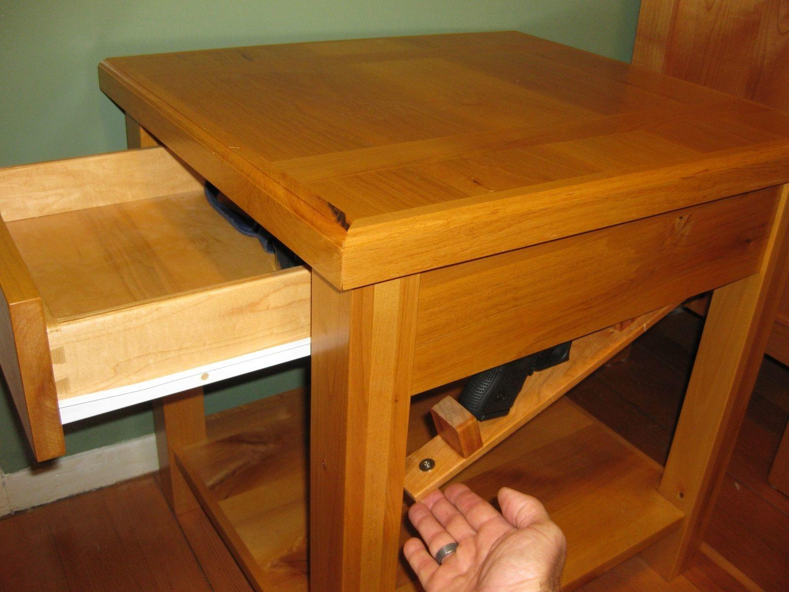 Hidden Compartment Coffee Table Plans