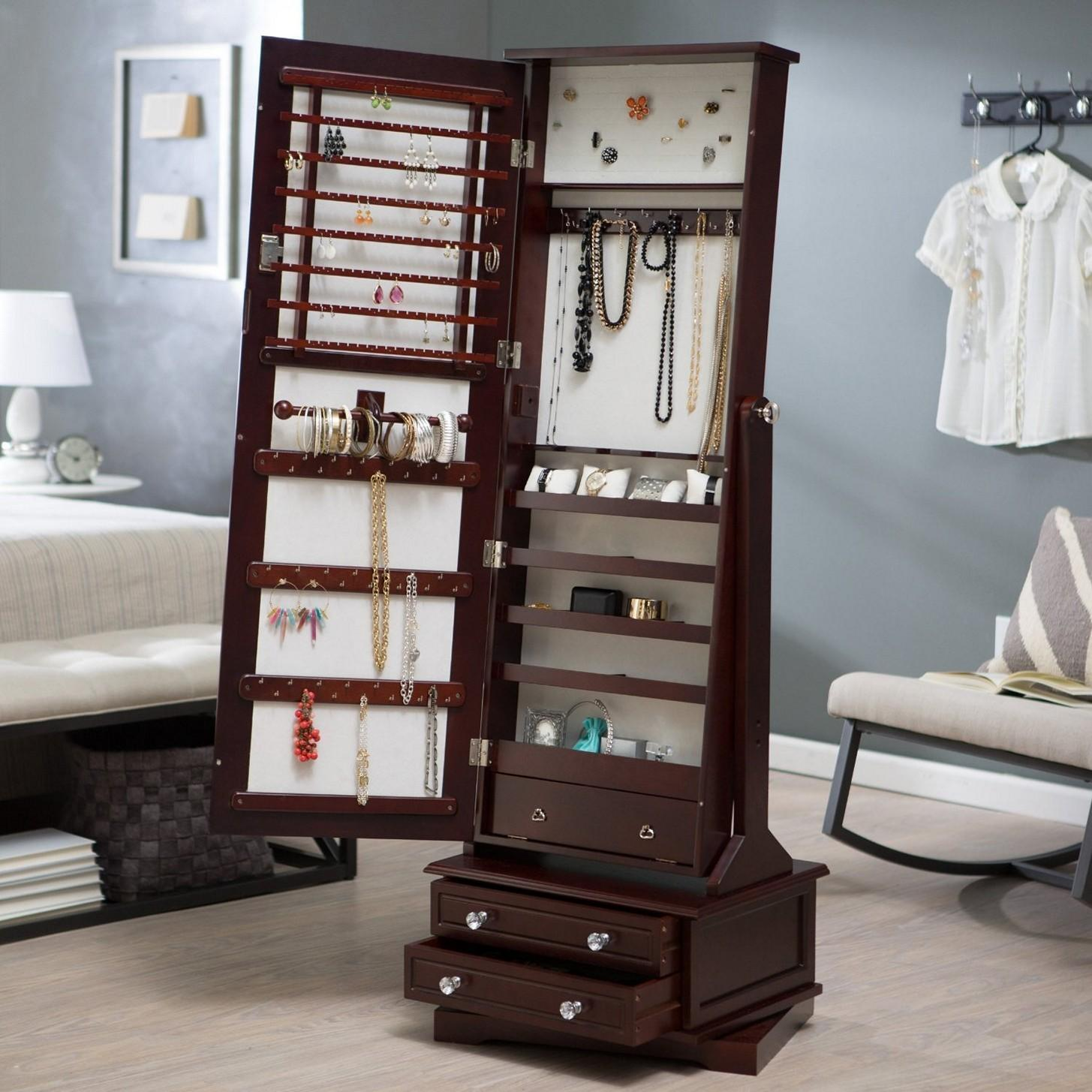 Hidden Jewelry Storage Ideas Designs
