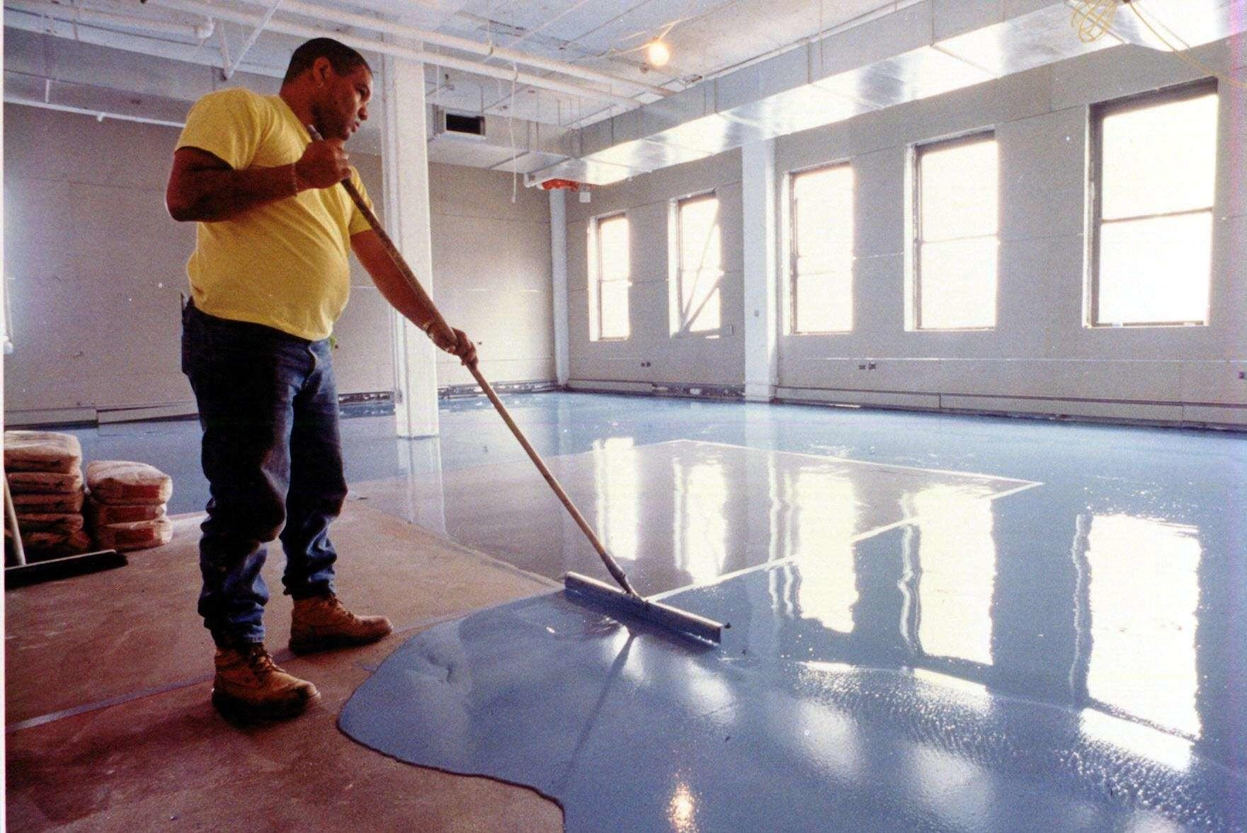 High Build Seamless Epoxy Floor Resurfacer
