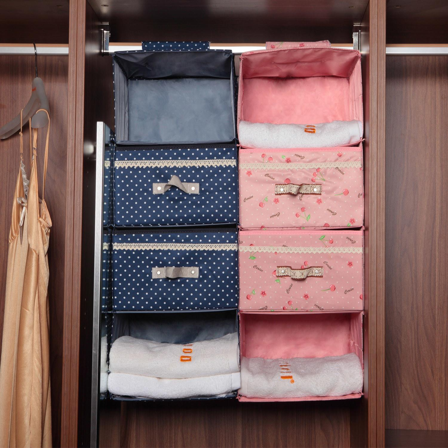 High Class Clothing Hanging Storage Bag Wardrobe