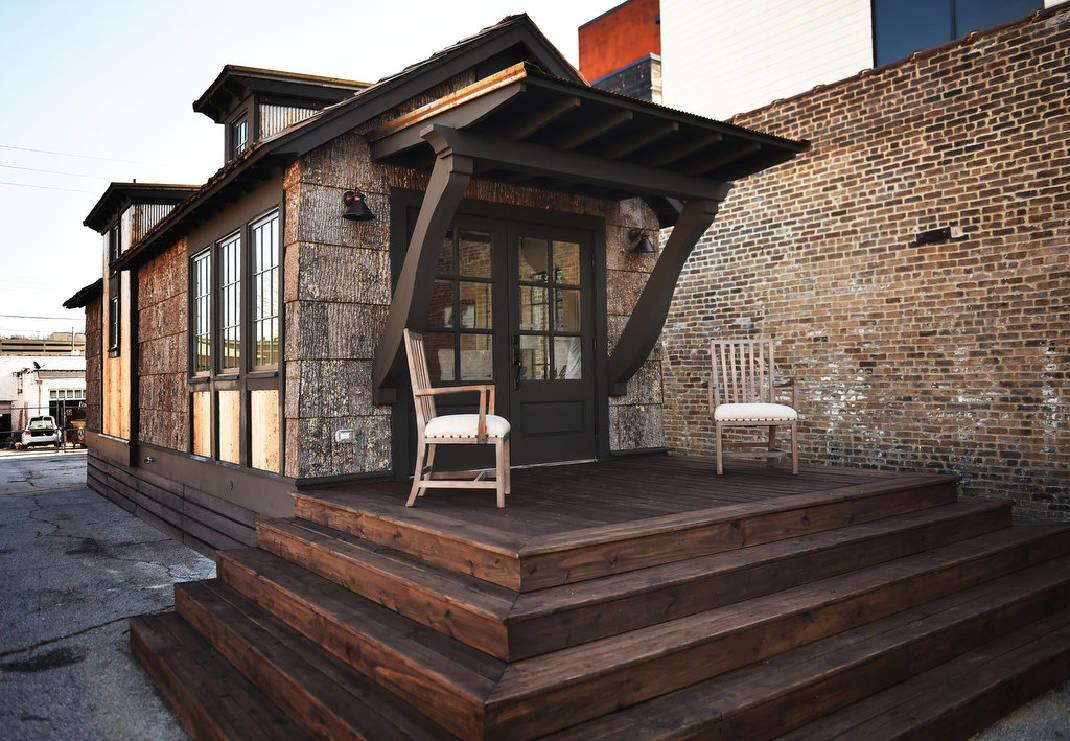 High End Architect Designs Tiny Homes Manufactured
