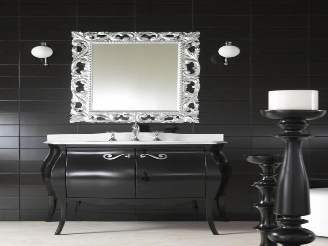 High End Bath Vanities Classic Black Bathroom Vanity