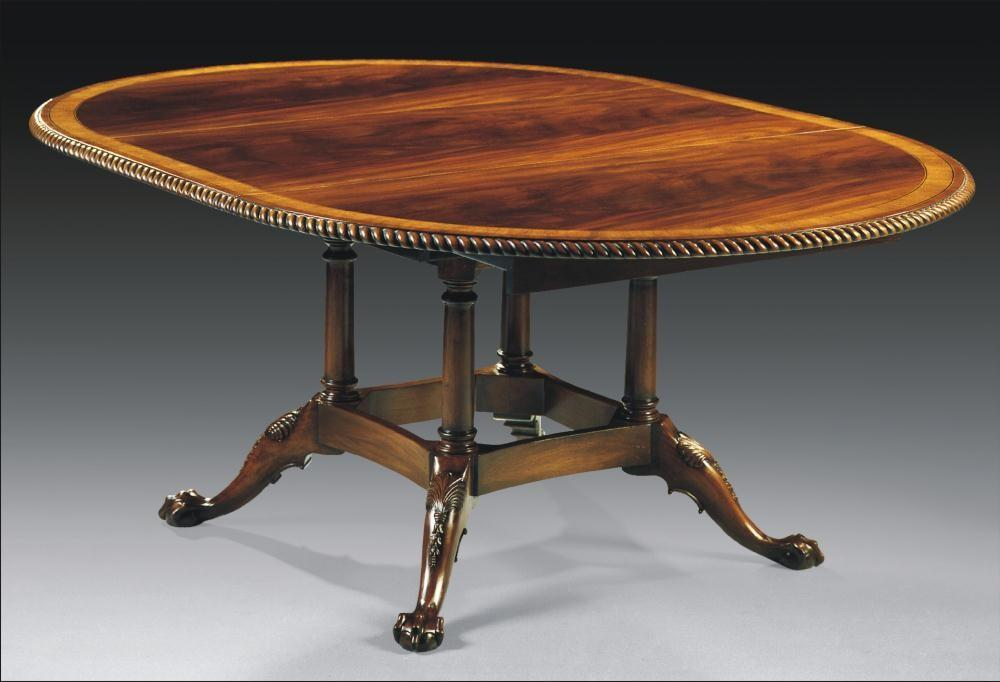 High End Dining Furniture Round Table