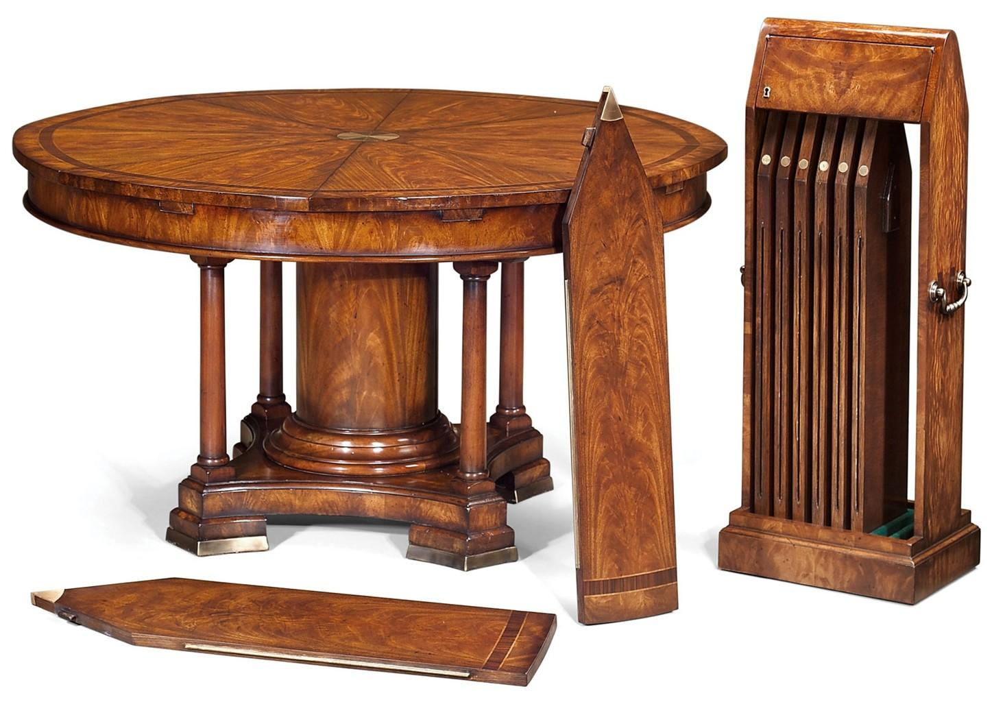 High End Dining Table Rotary Extending Round