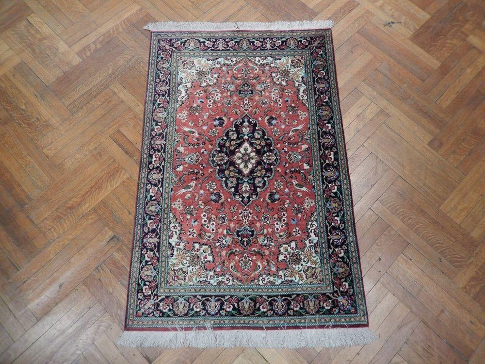 High End Handmade Persian Qum Fine Silk Rug