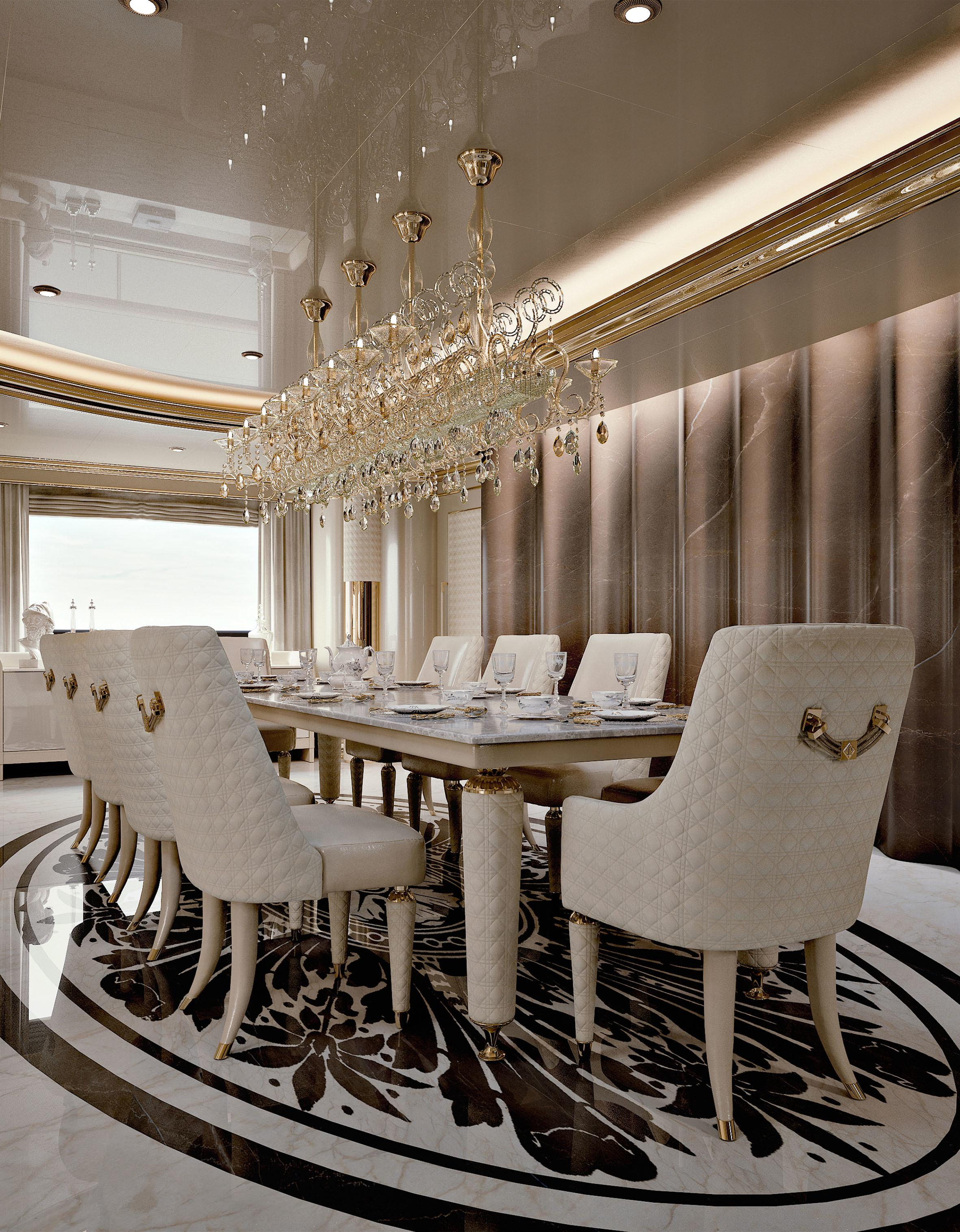 High End Luxury Dining Room Furniture