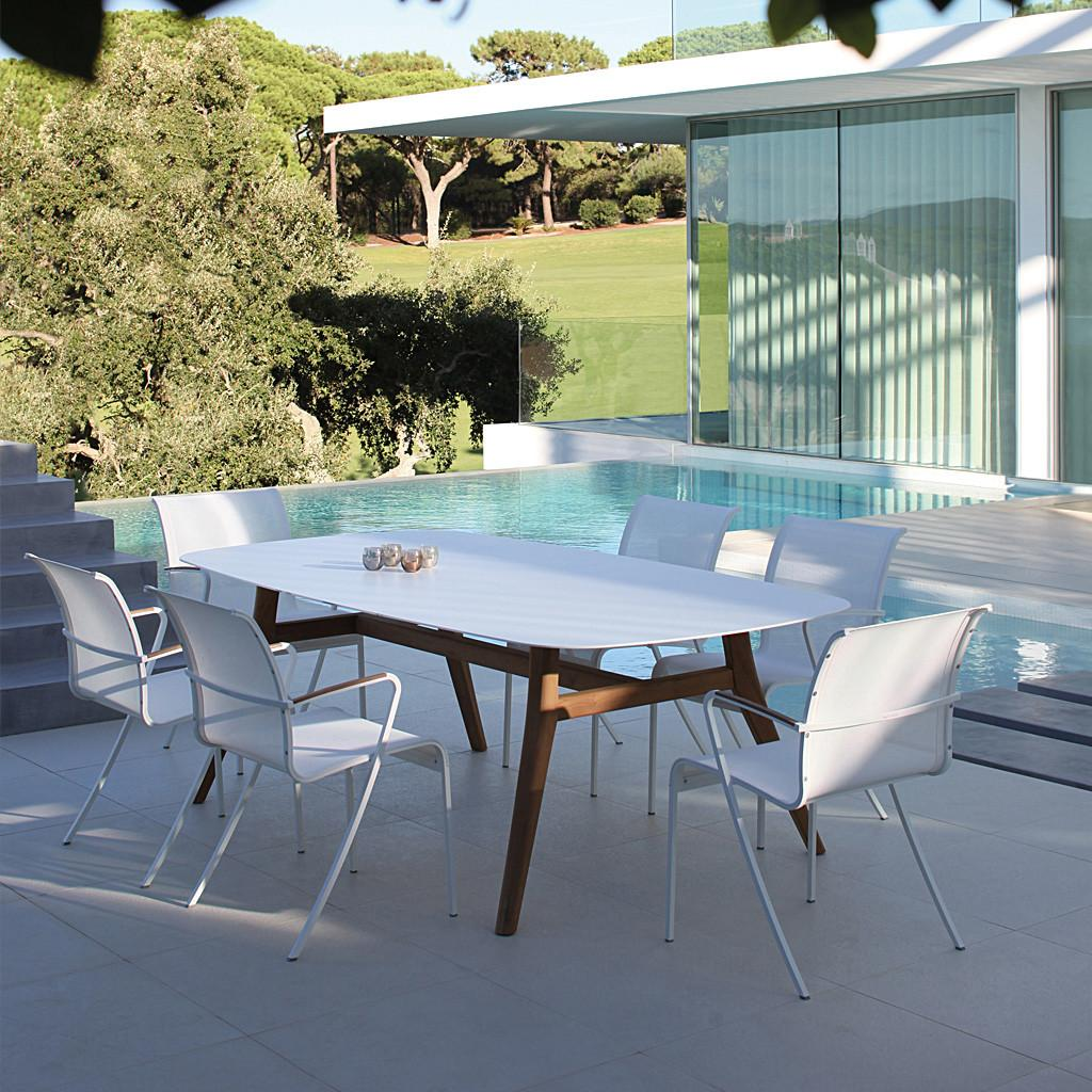 High End Outdoor Dining Tables Modern Patio
