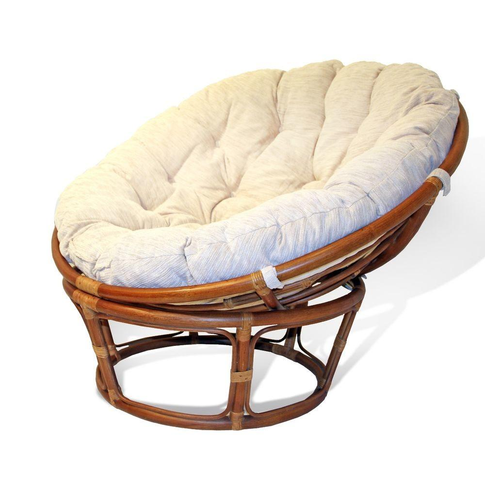 High Quality Class Handmade Rattan Wicker Round Papasan