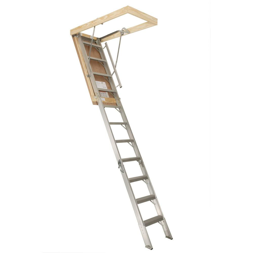 High Quality Garage Attic Ladders Aluminum Stairs