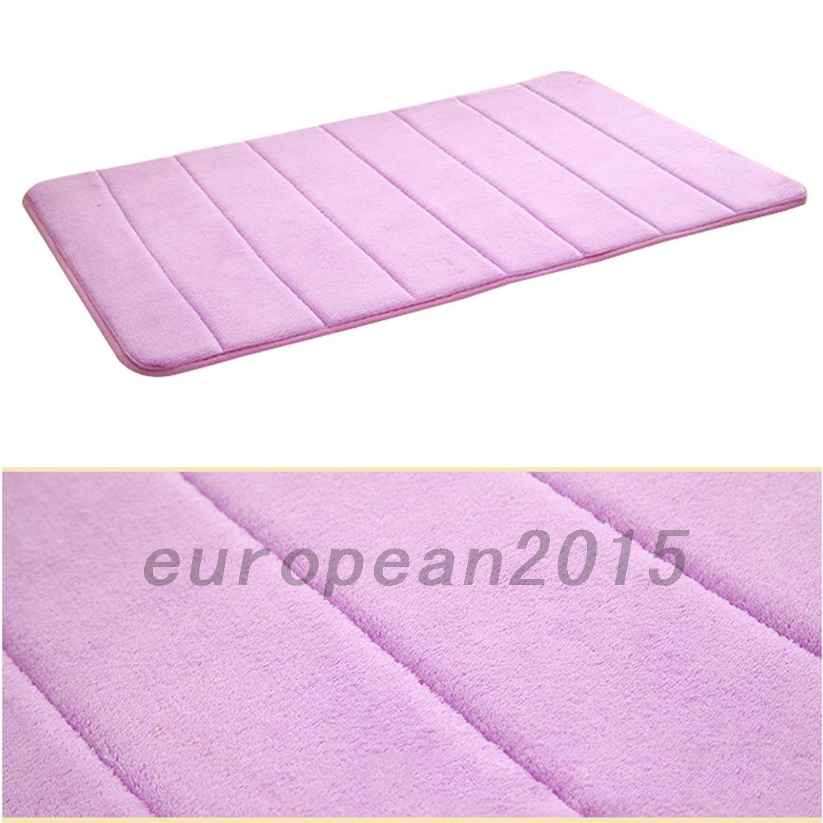 High Quality Soft Memory Foam Bath Bathroom Floor Shower