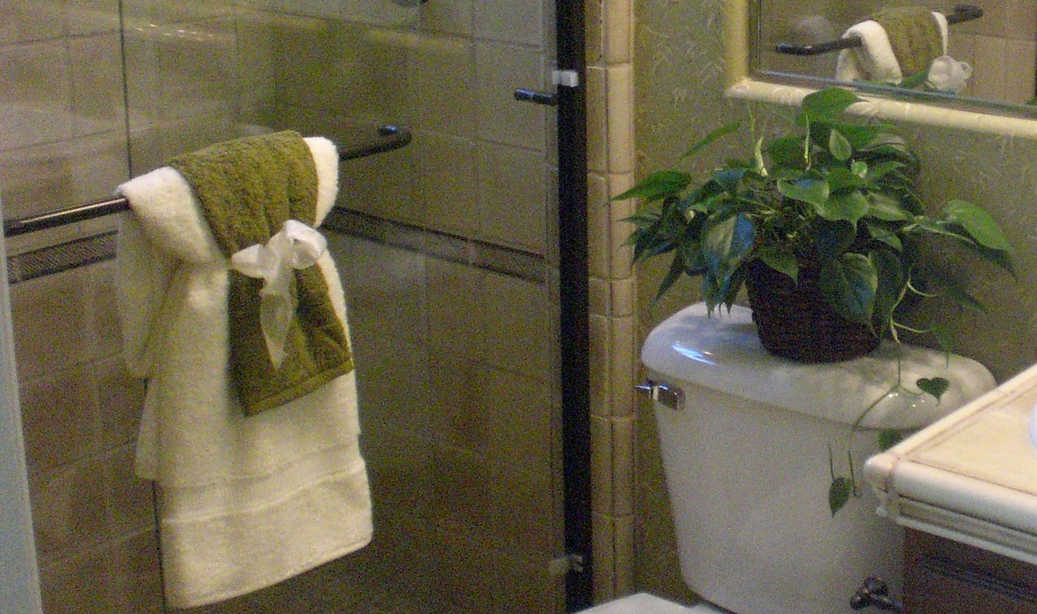 High Towel Decorating Ideas Bathroom Rack