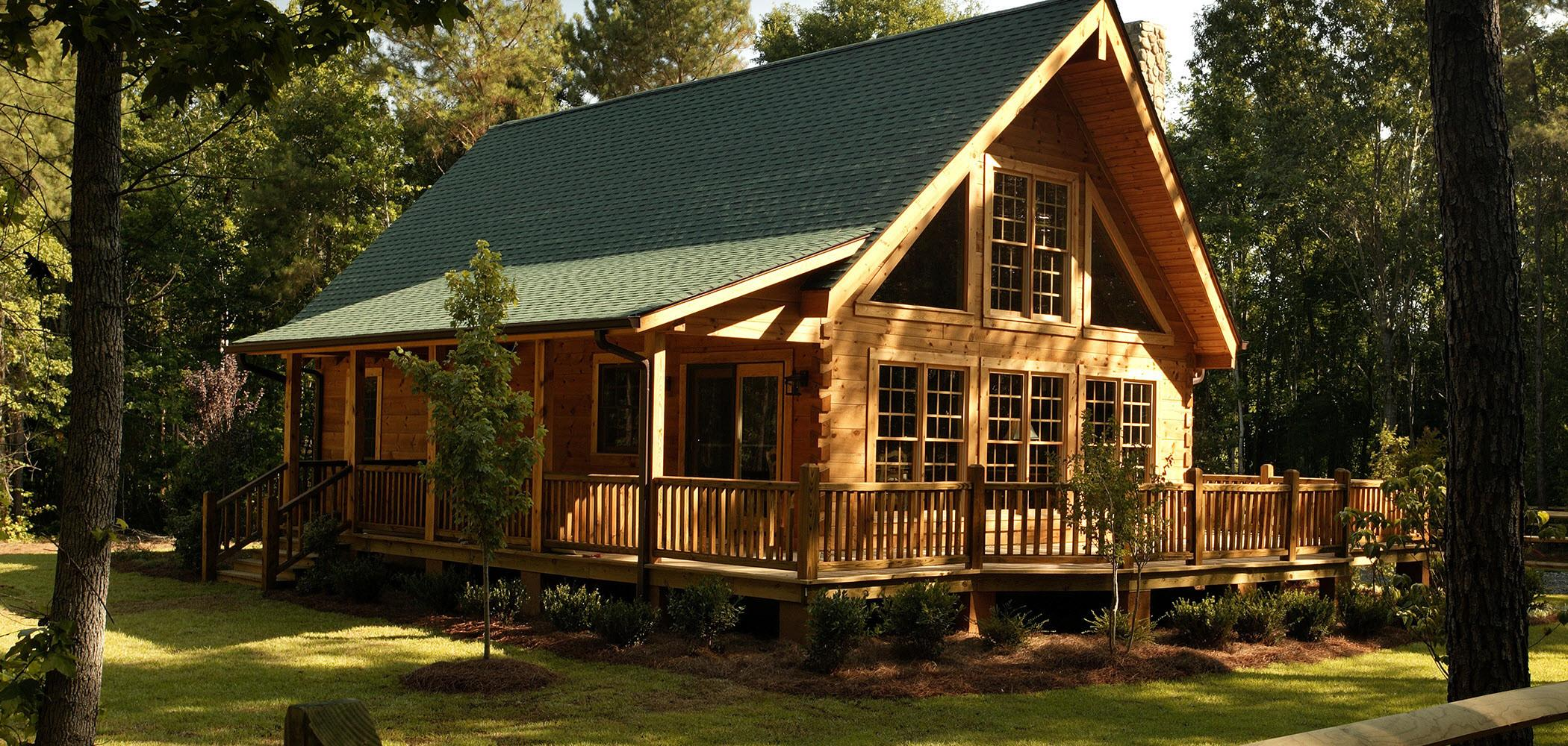 Highest Density Log Cabins Cities Countries